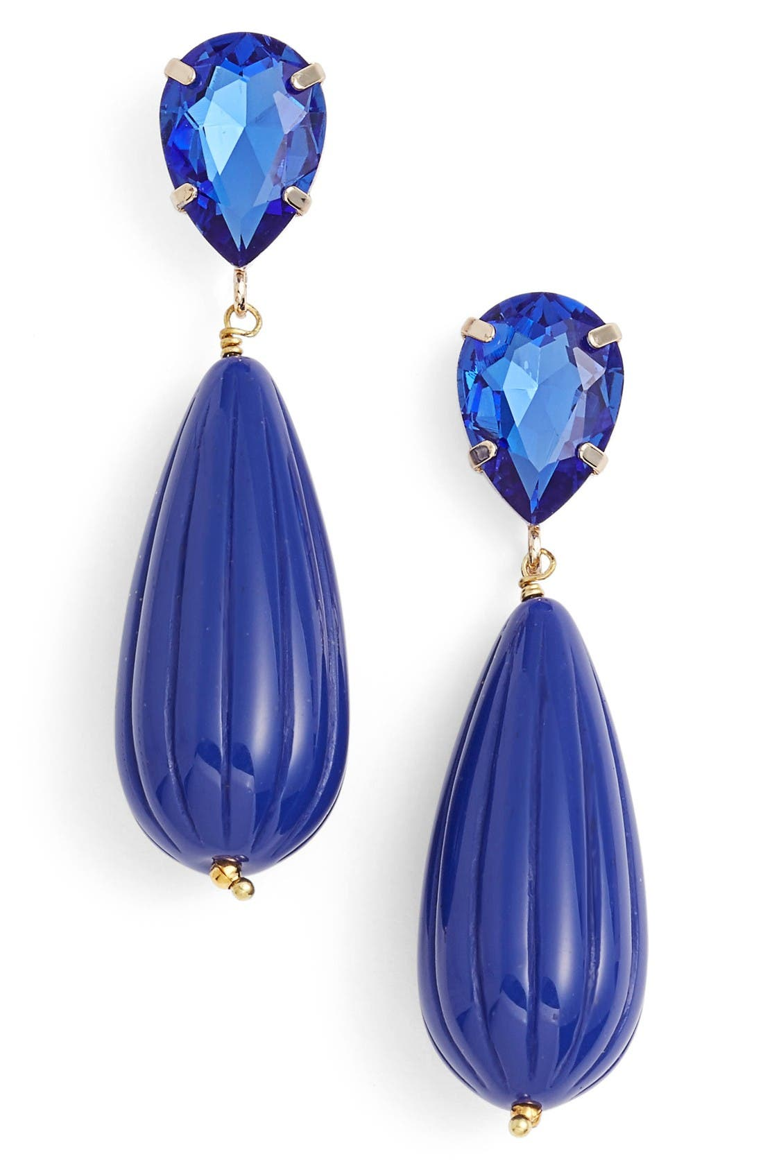 Alternate Image 1 Selected - ZENZII Teardrop Earrings