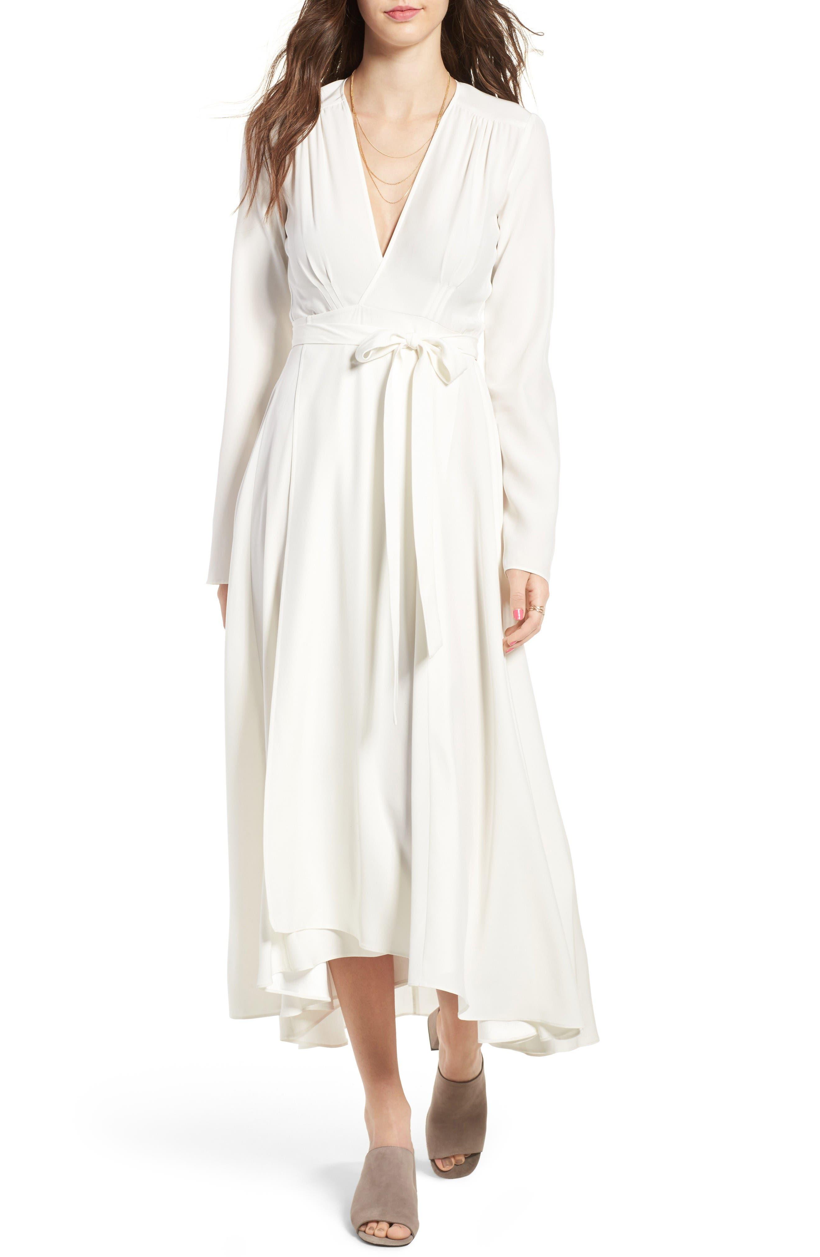 Alternate Image 1 Selected - Stone Cold Fox Nico Silk Wrap Dress