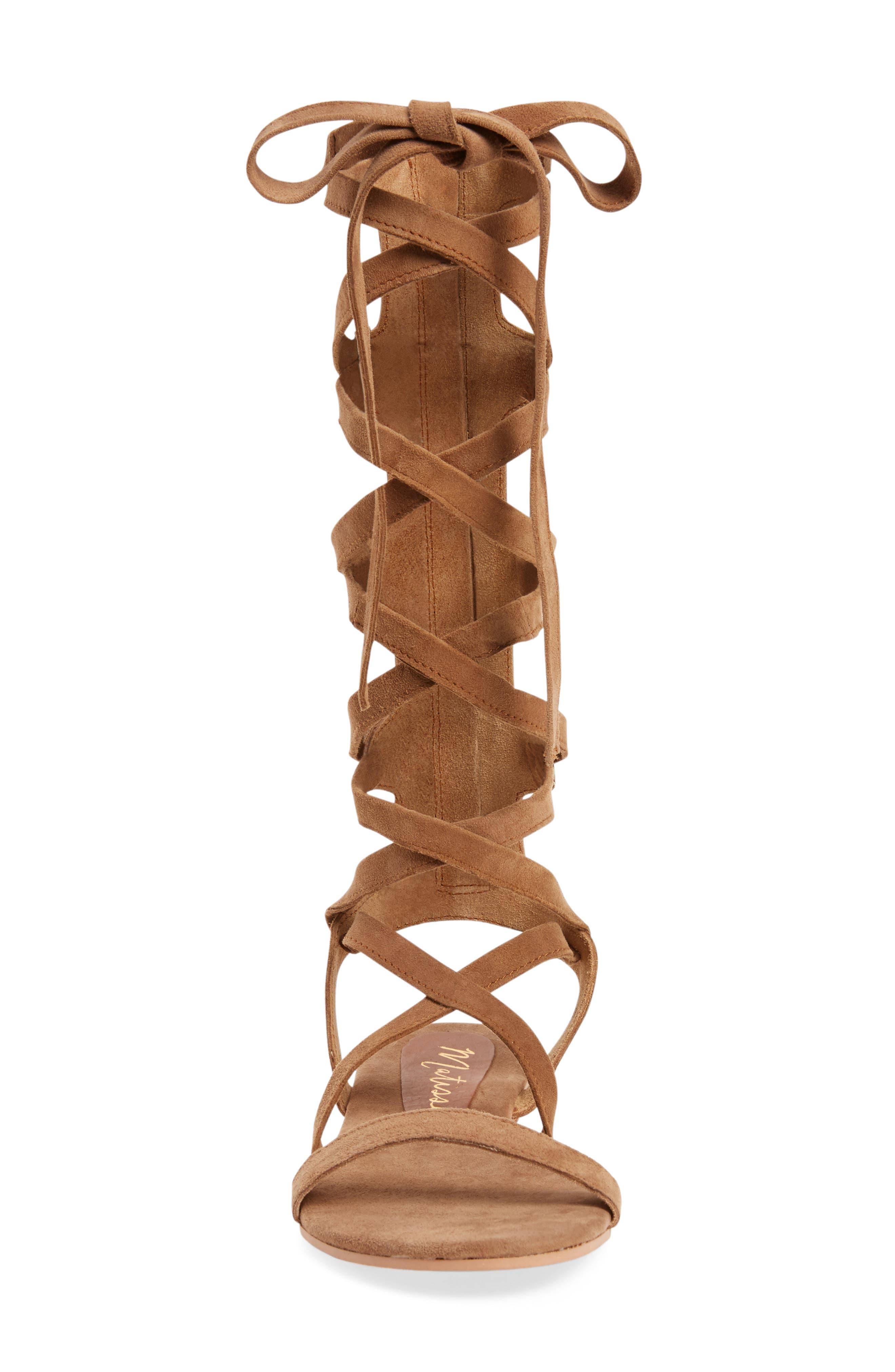 Alternate Image 3  - Matisse Zepher Tall Gladiator Sandal (Women)