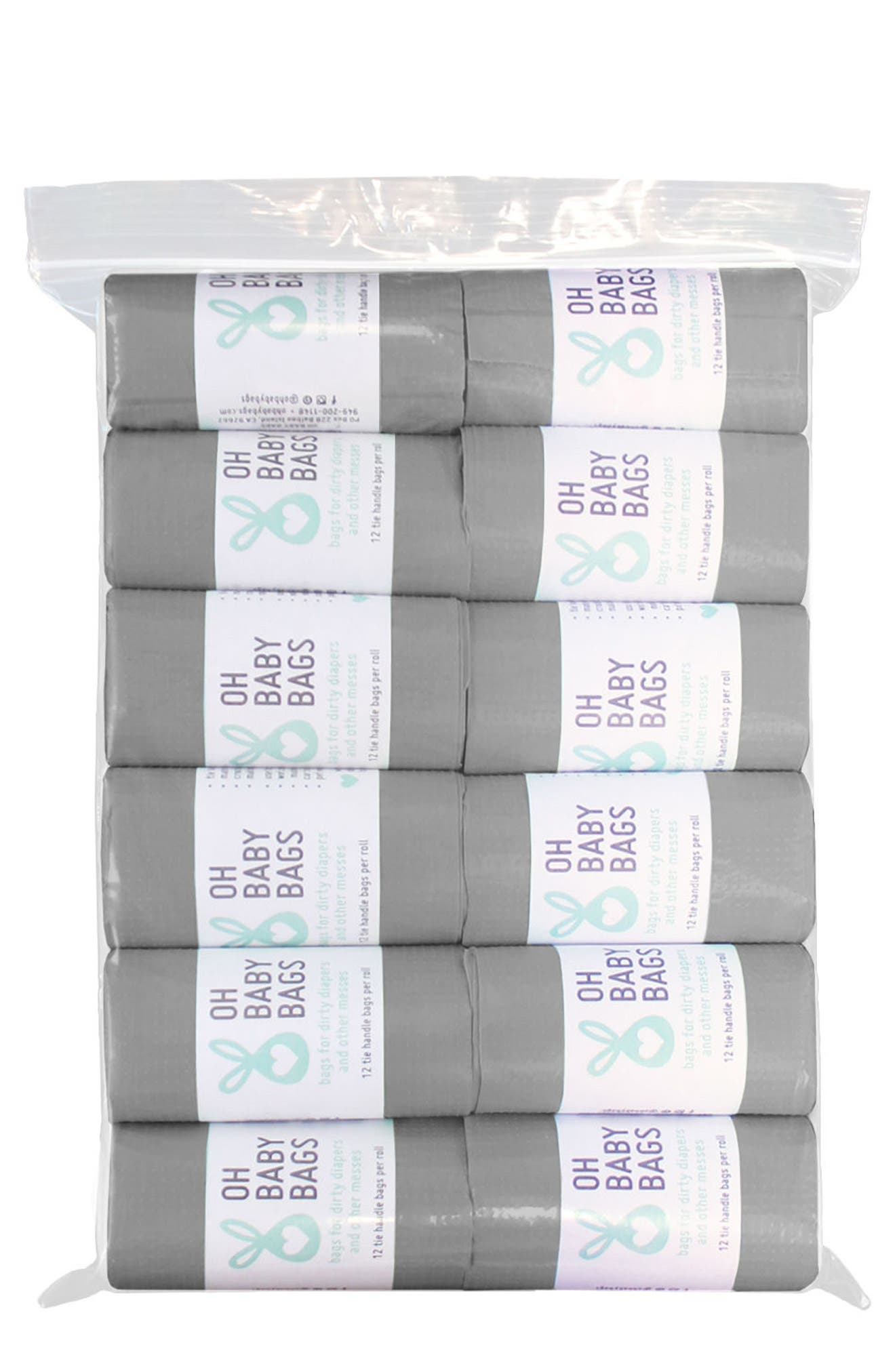 Oh Baby Bags Set of 12 Wet Bag Refill Rolls
