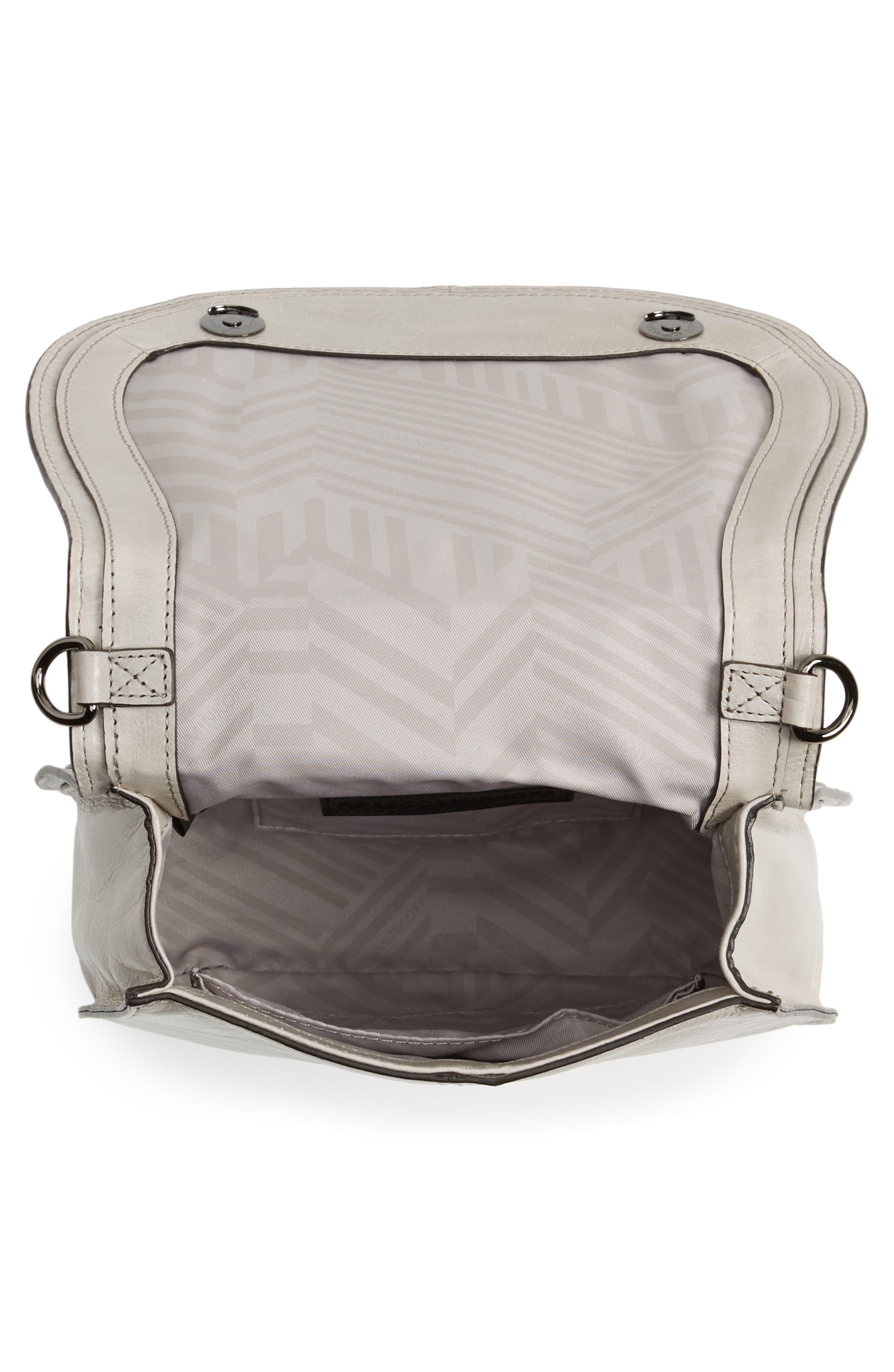 Alternate Image 4  - Rebecca Minkoff Small Vanity Leather Saddle Bag