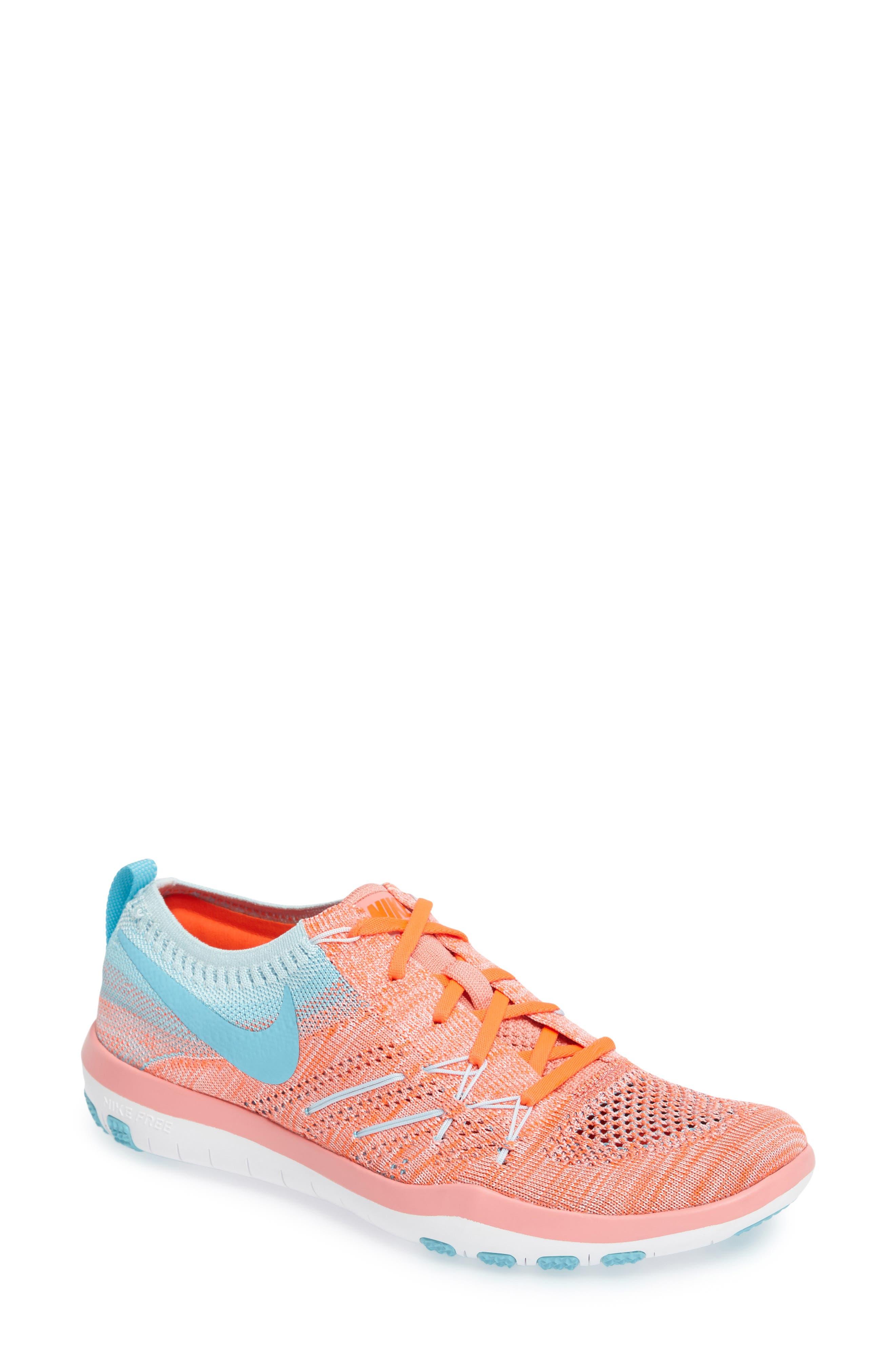 Alternate Image 1 Selected - Nike 'Free TR Focus Flyknit' Training Shoe (Women)