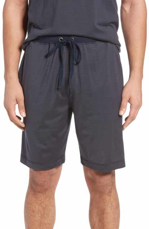 Daniel Buchler Silk   Cotton Lounge Shorts