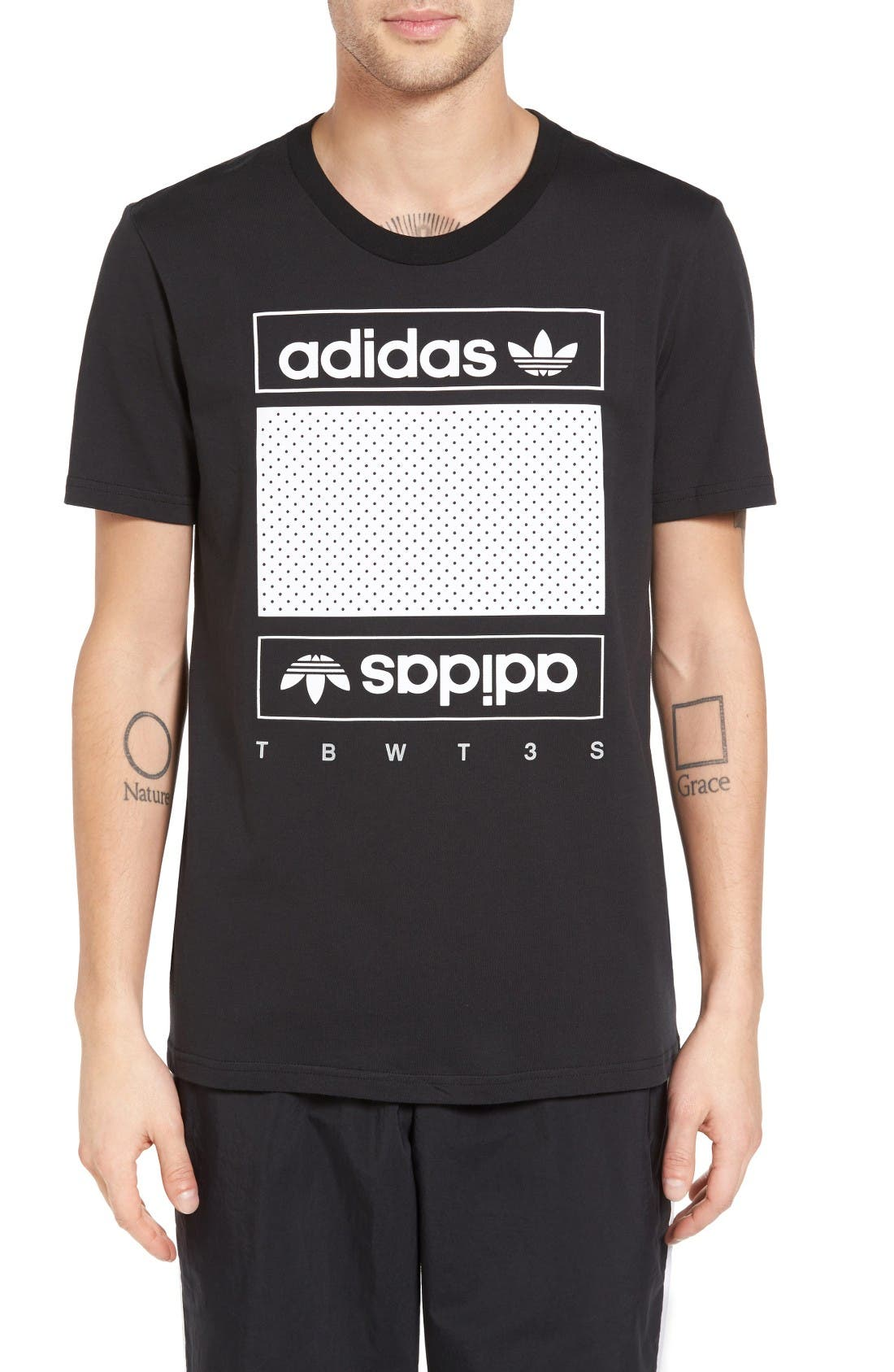 adidas Originals Mesh Box Graphic T-Shirt