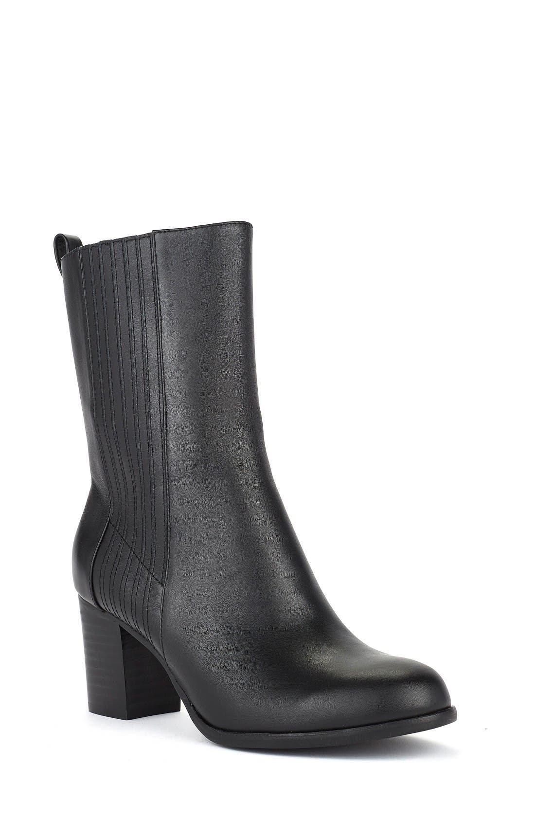 Shoes of Prey x Eleanor Pendleton Block Heel Bootie (Women)