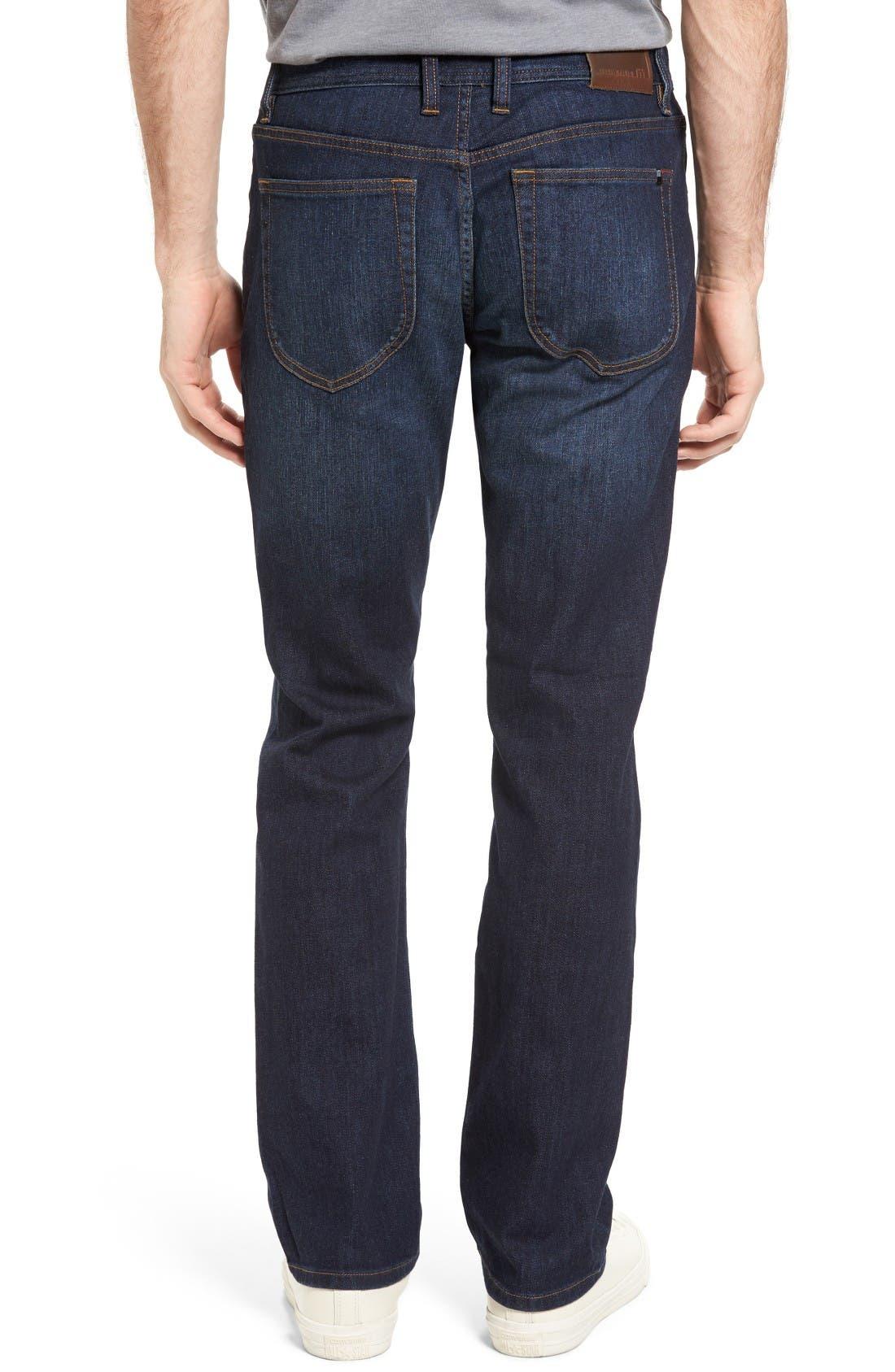 Alternate Image 2  - Travis Mathew 'Duke' Relaxed Fit Jeans (Vintage Indigo)