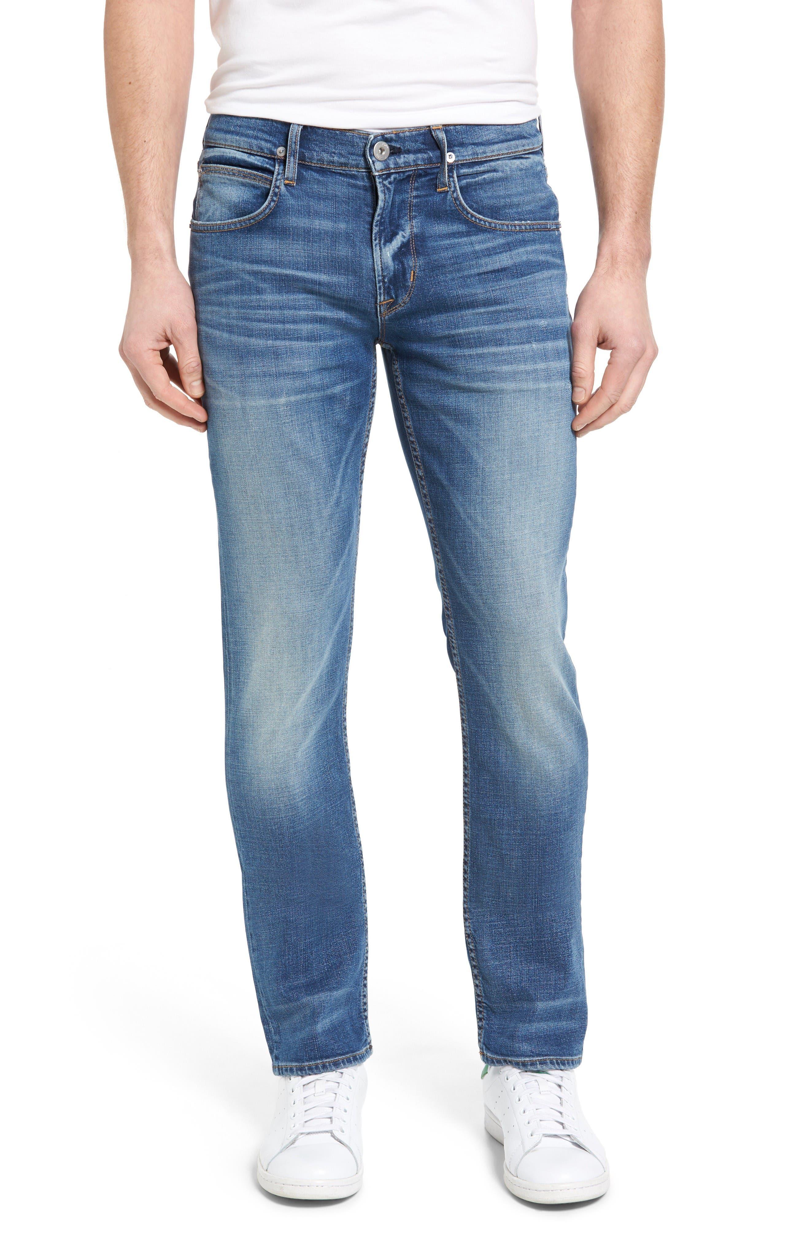 Hudson Jeans Byron Slim Straight Leg Jeans (Normandy)