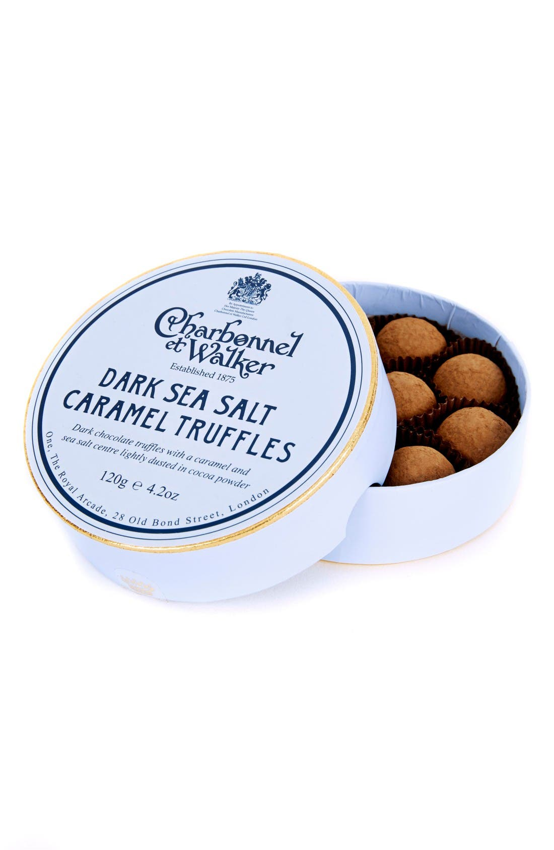 CHARBONNEL ET WALKER Flavored Chocolate Truffles in Gift