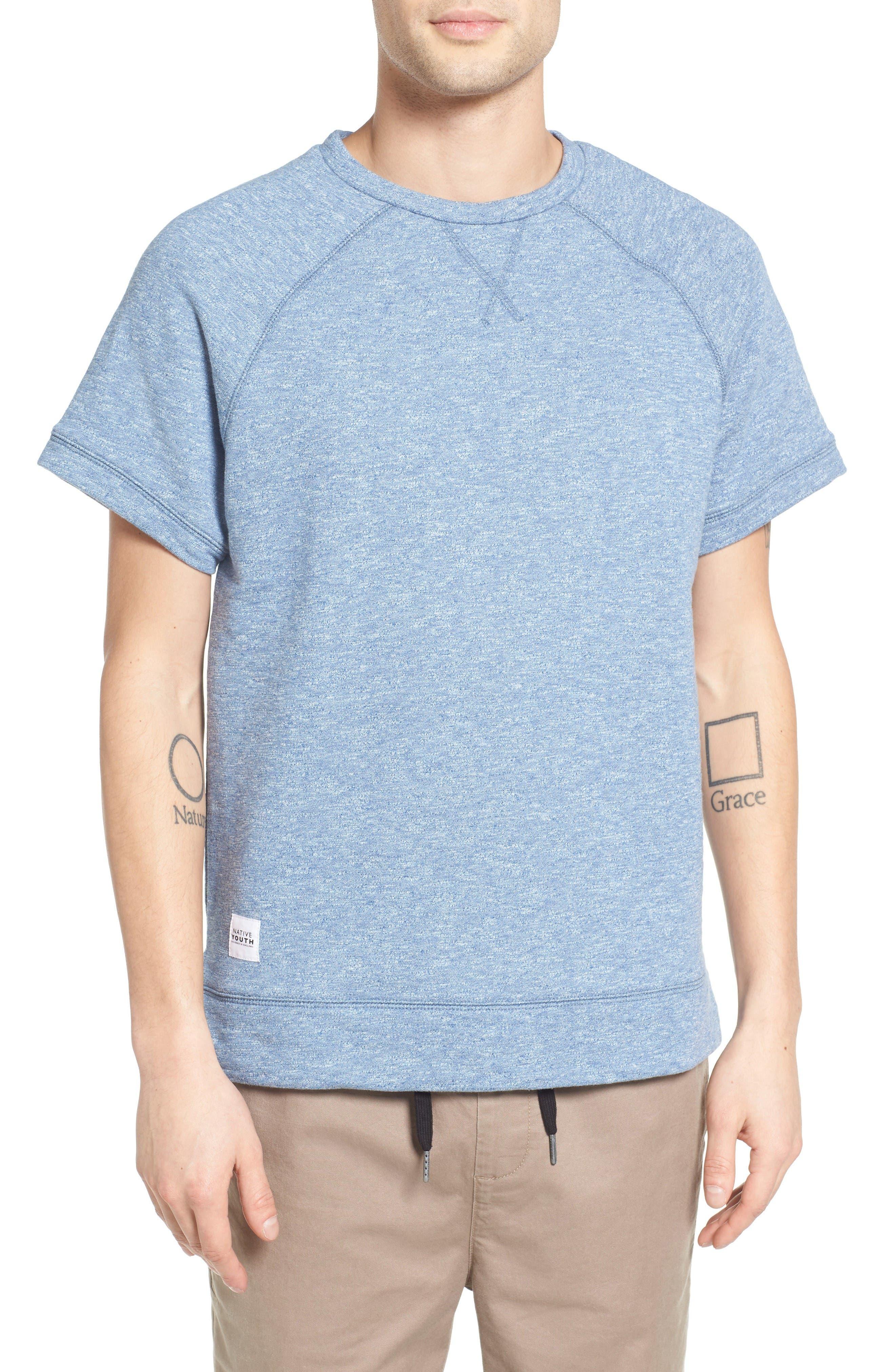 NATIVE YOUTH Milford Short Sleeve Sweatshirt