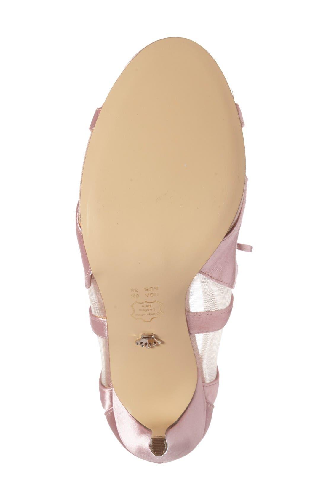 Alternate Image 4  - Nina Cherie Illusion Sandal (Women)