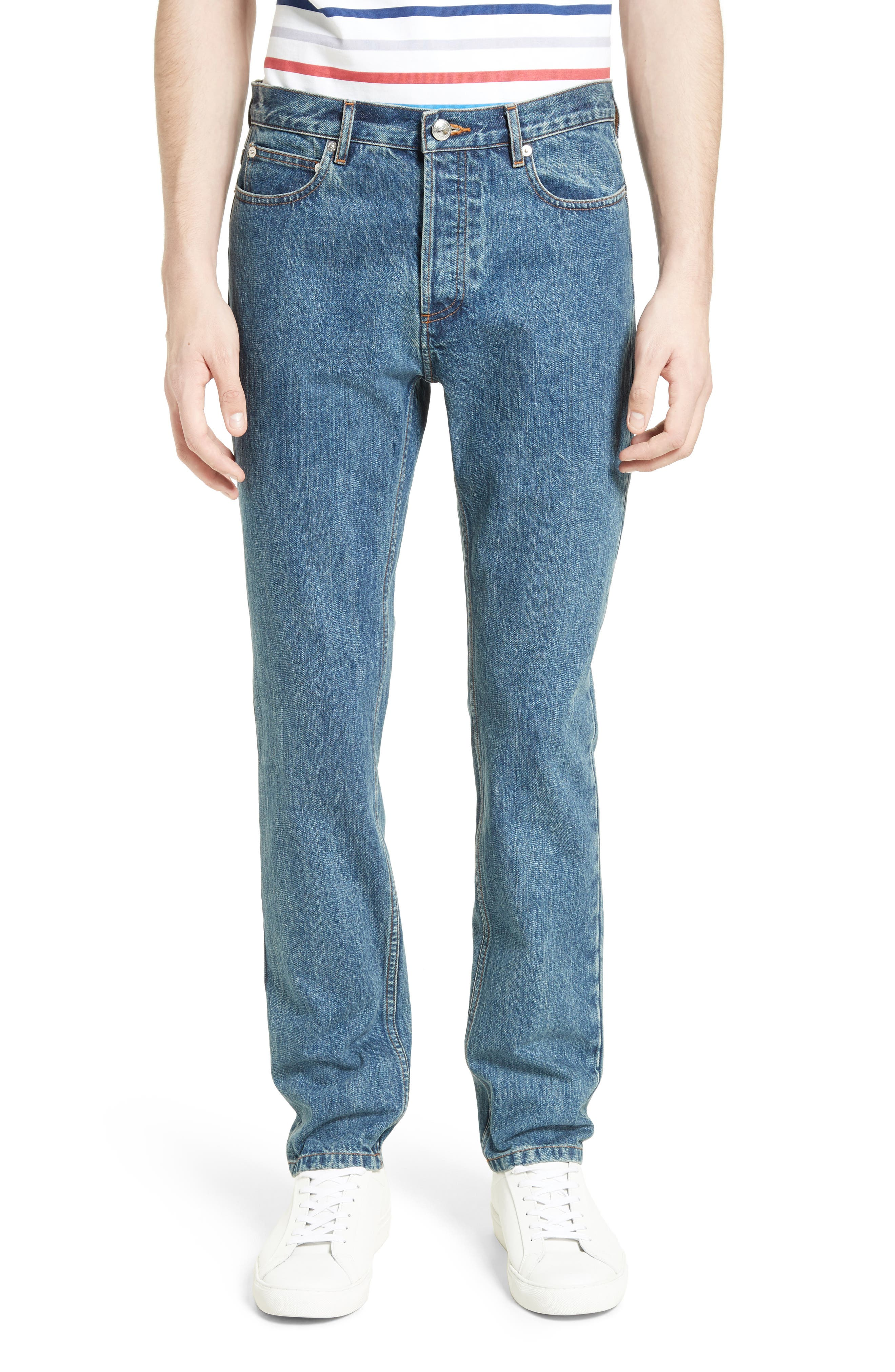 A.P.C. Low Standard Straight Leg Jeans