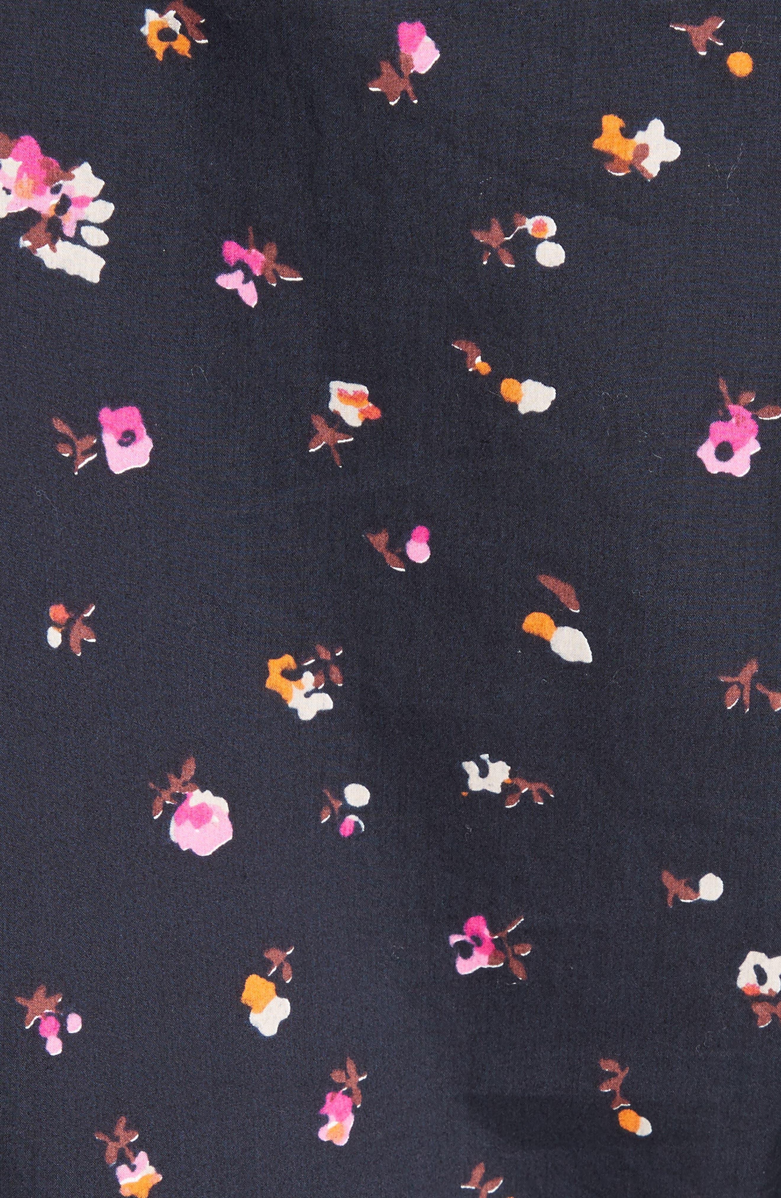 Alternate Image 6  - Rebecca Taylor Mia Print Poplin Top