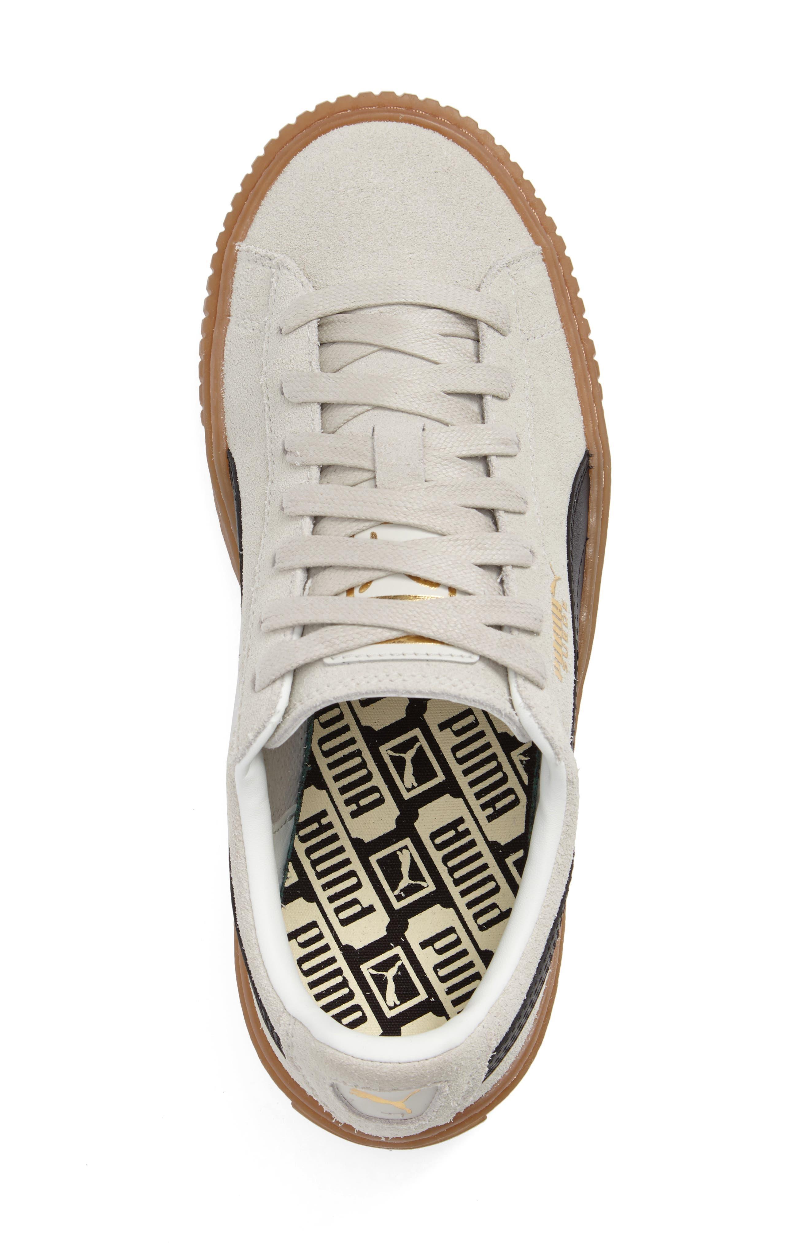 Alternate Image 3  - PUMA Suede Platform Core Sneaker (Women)