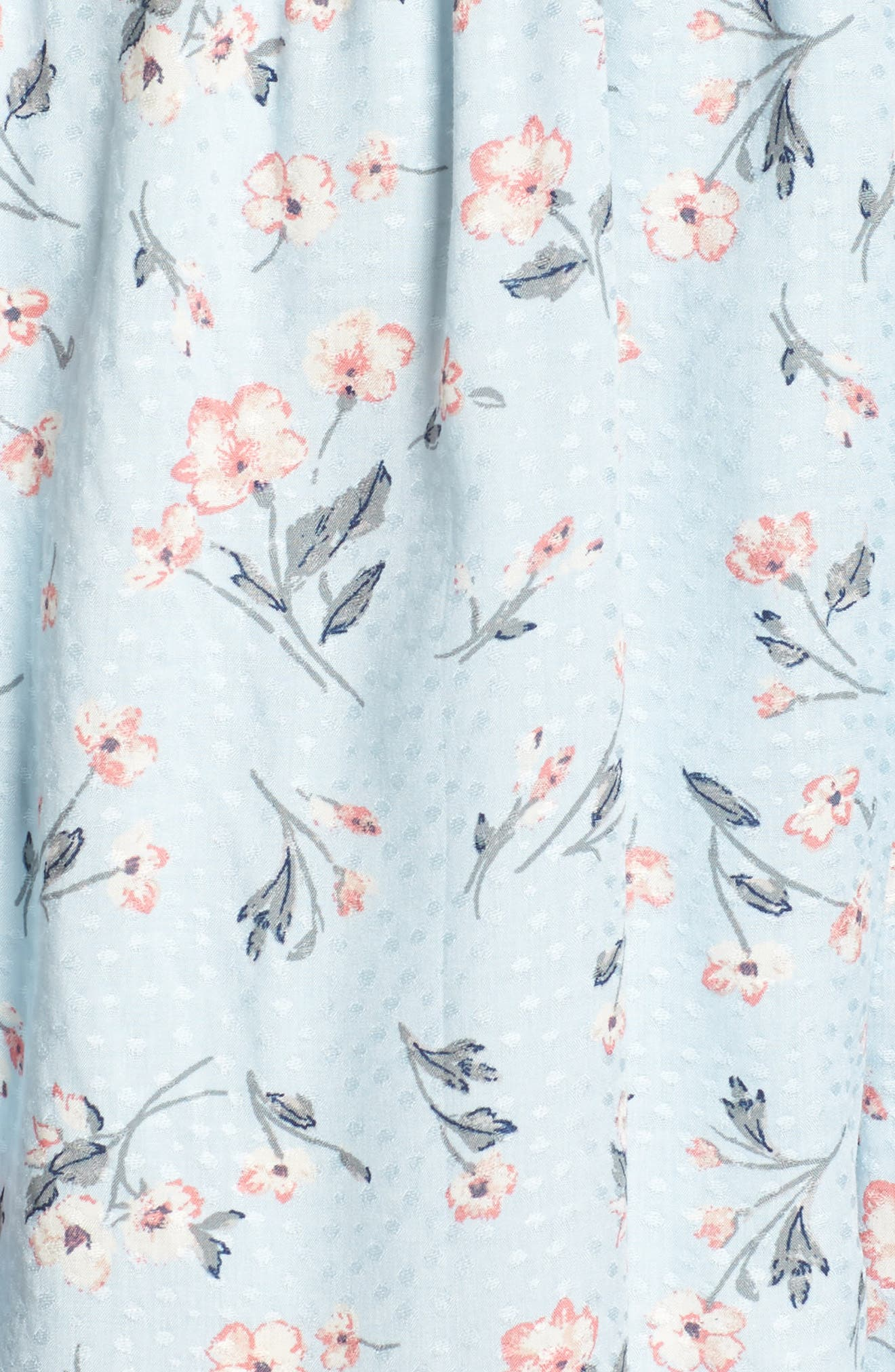 Alternate Image 5  - Lush Floral Print Ruffle Romper