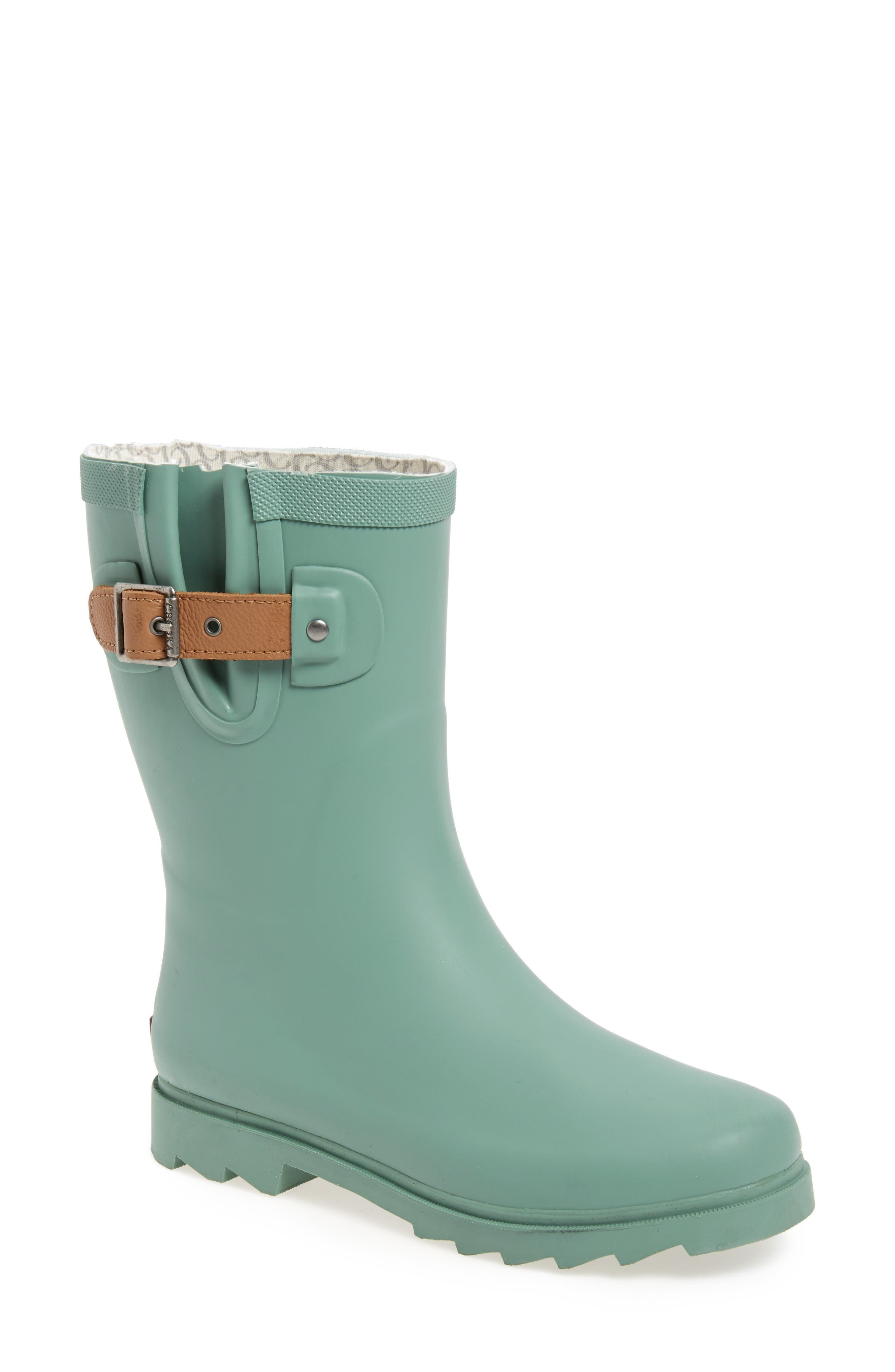 Alternate Image 1 Selected - Chooka 'Top Solid Mid Height' Rain Boot (Women)