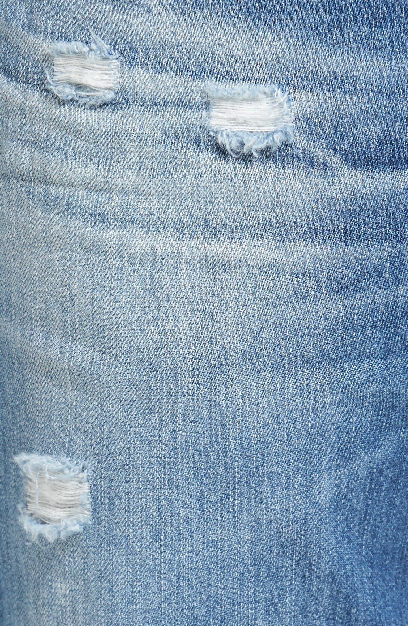 Alternate Image 5  - AG Tellis Slim Fit Jeans (22 Years Melville)