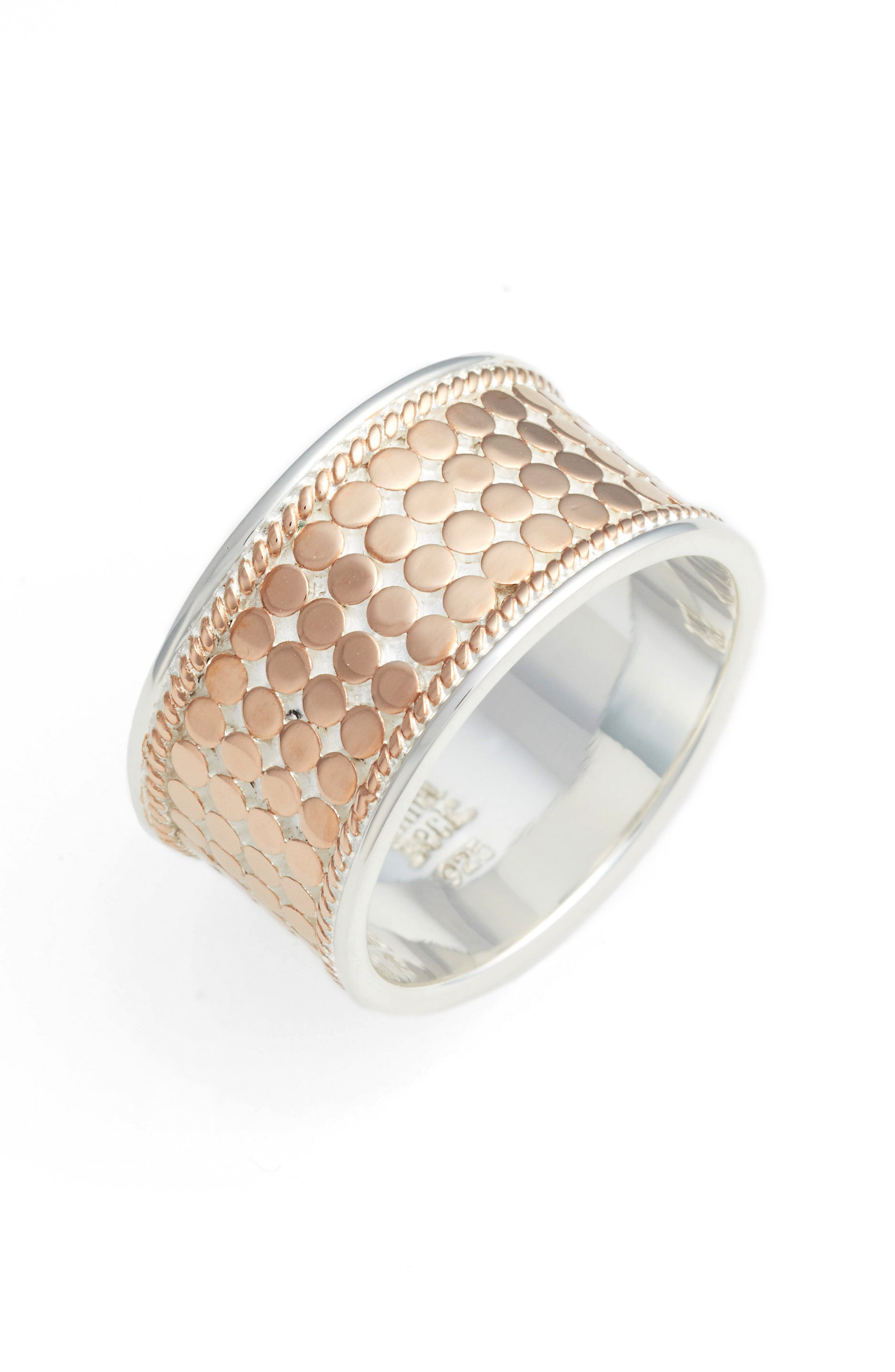 ANNA BECK Vermeil Cigar Band Ring