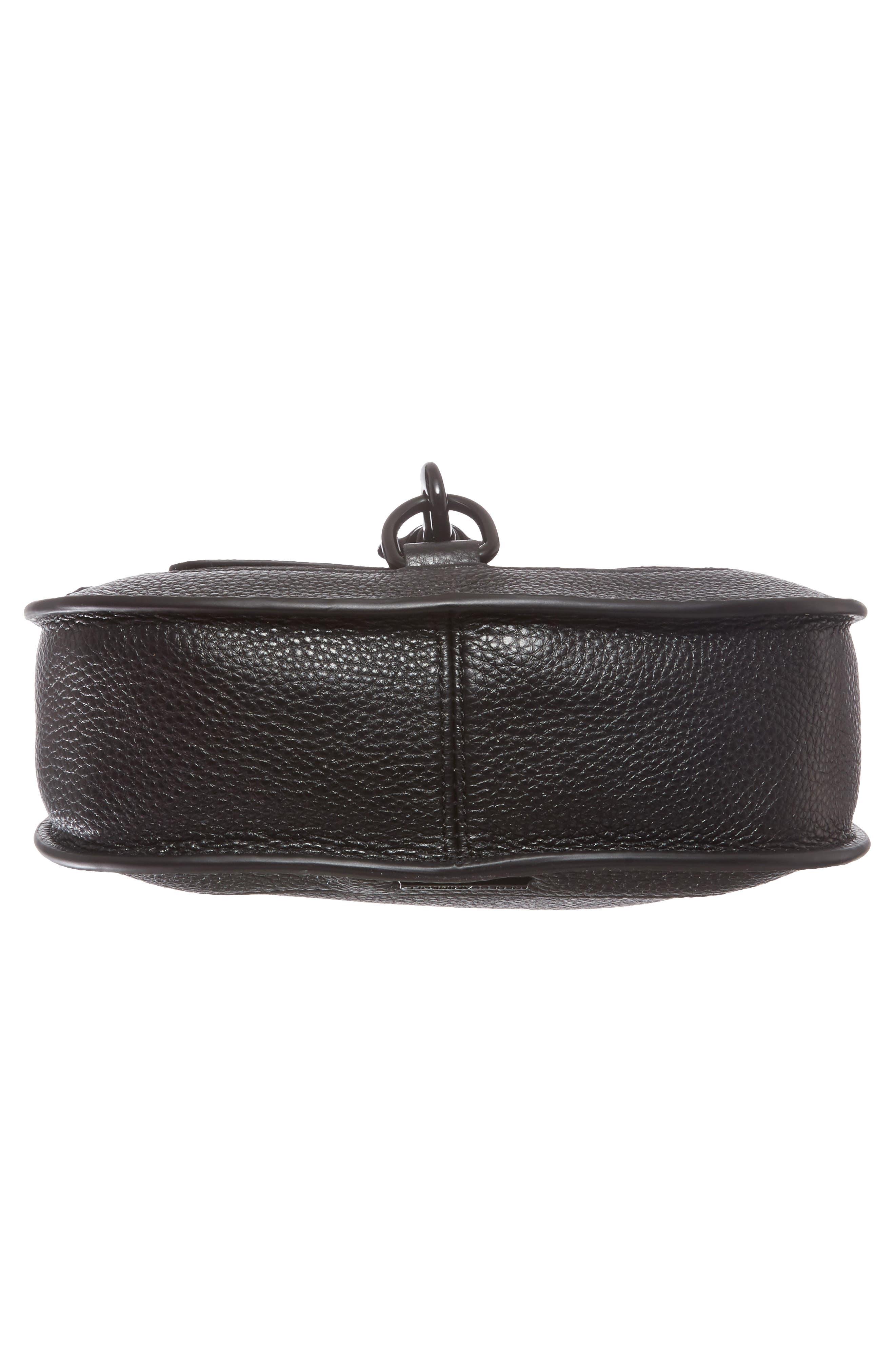 Alternate Image 6  - Rebecca Minkoff Dog Clip Leather & Suede Saddle Bag (Nordstrom Exclusive)