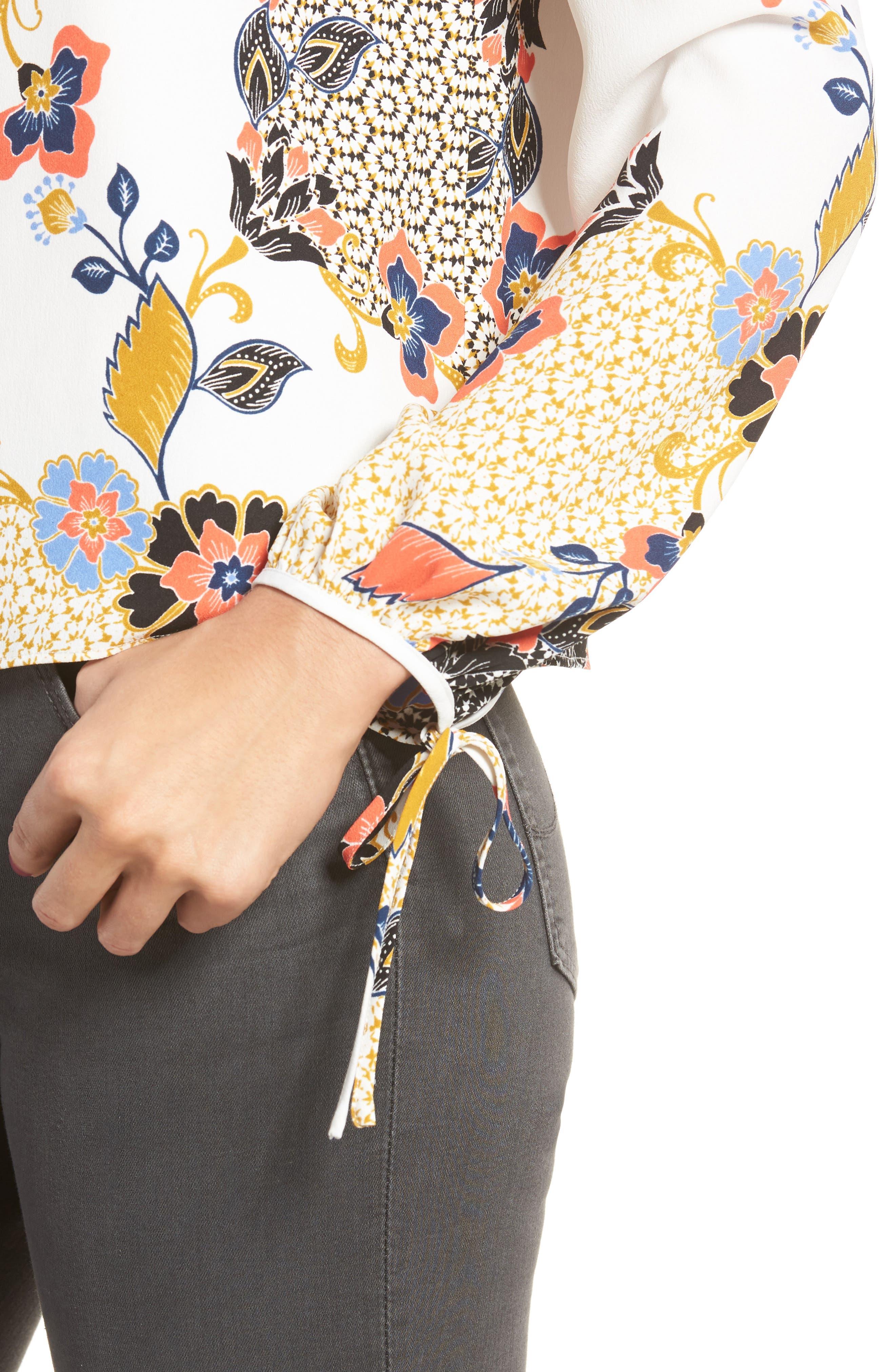 Alternate Image 4  - cooper & ella Leticia Off the Shoulder Blouse