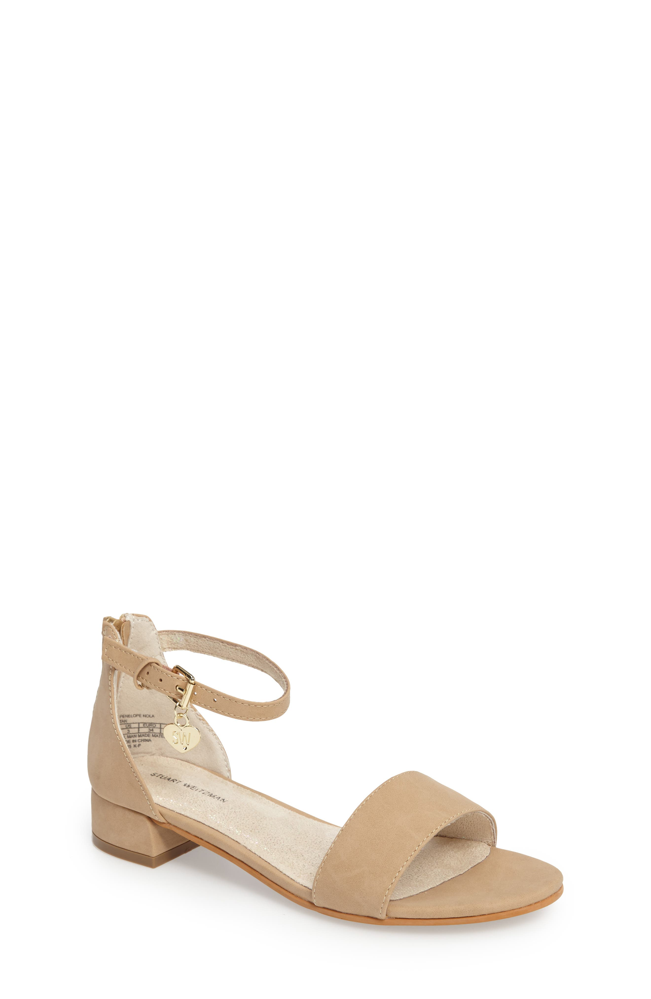 Stuart Weitzman Penelope Nola Sandal (Toddler, Little Kid & Big Kid)