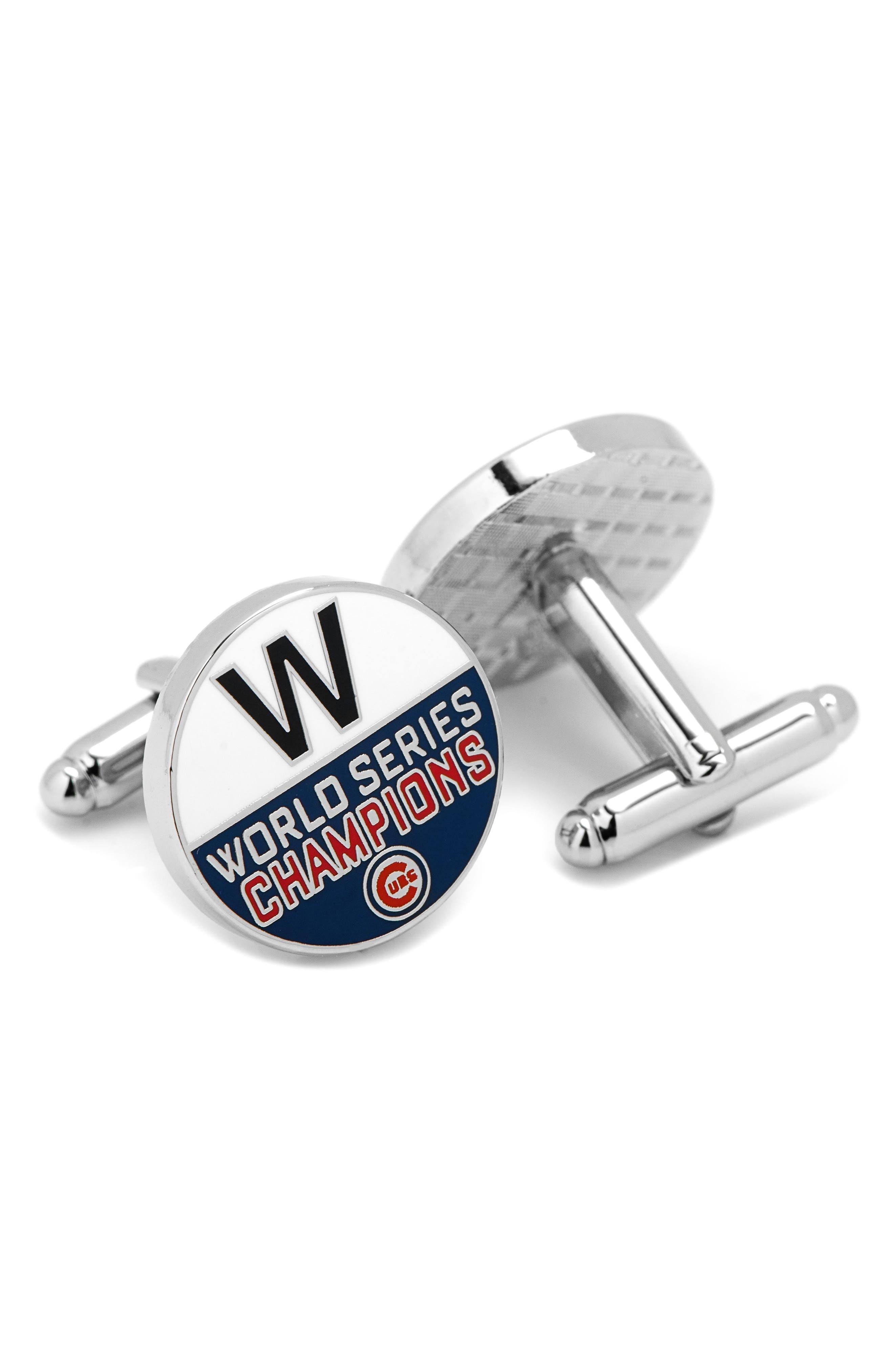 Cufflinks, Inc. Cubs World Series Cuff Links
