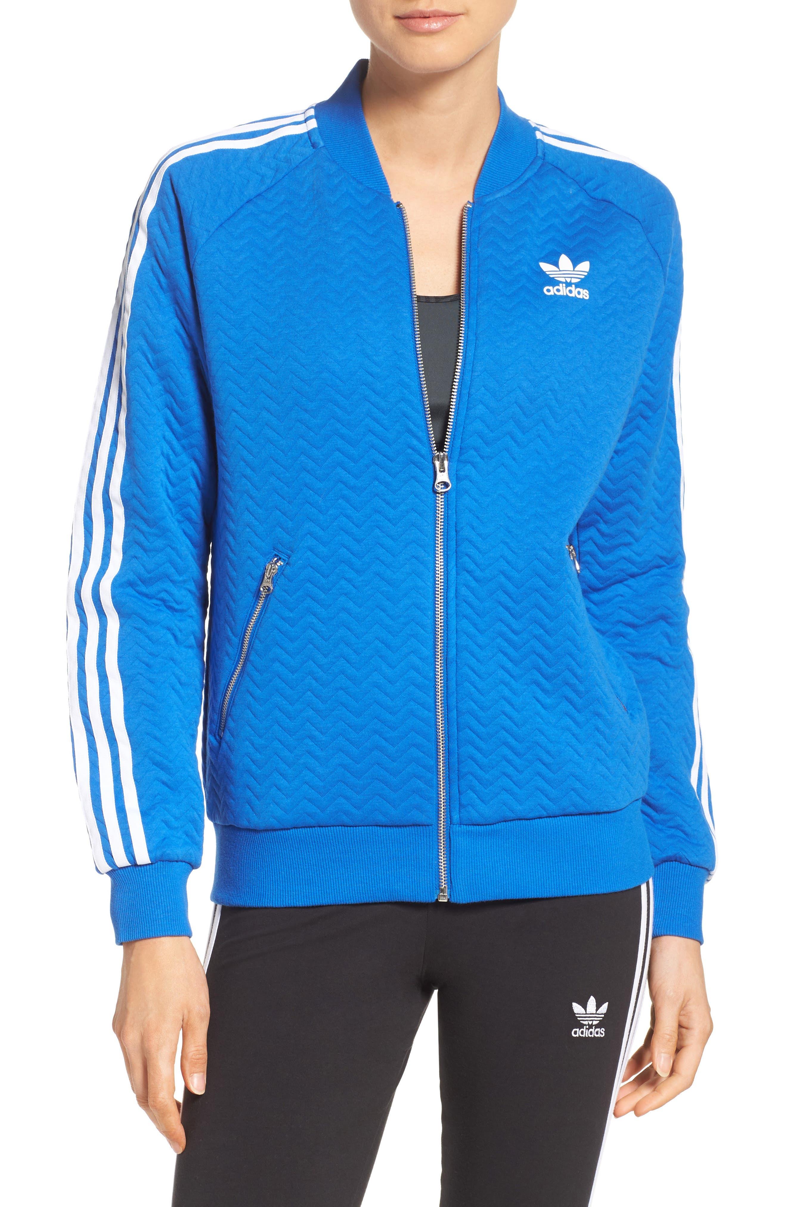 Alternate Image 1 Selected - adidasOriginals 'Superstar' 3-Stripes Track Jacket