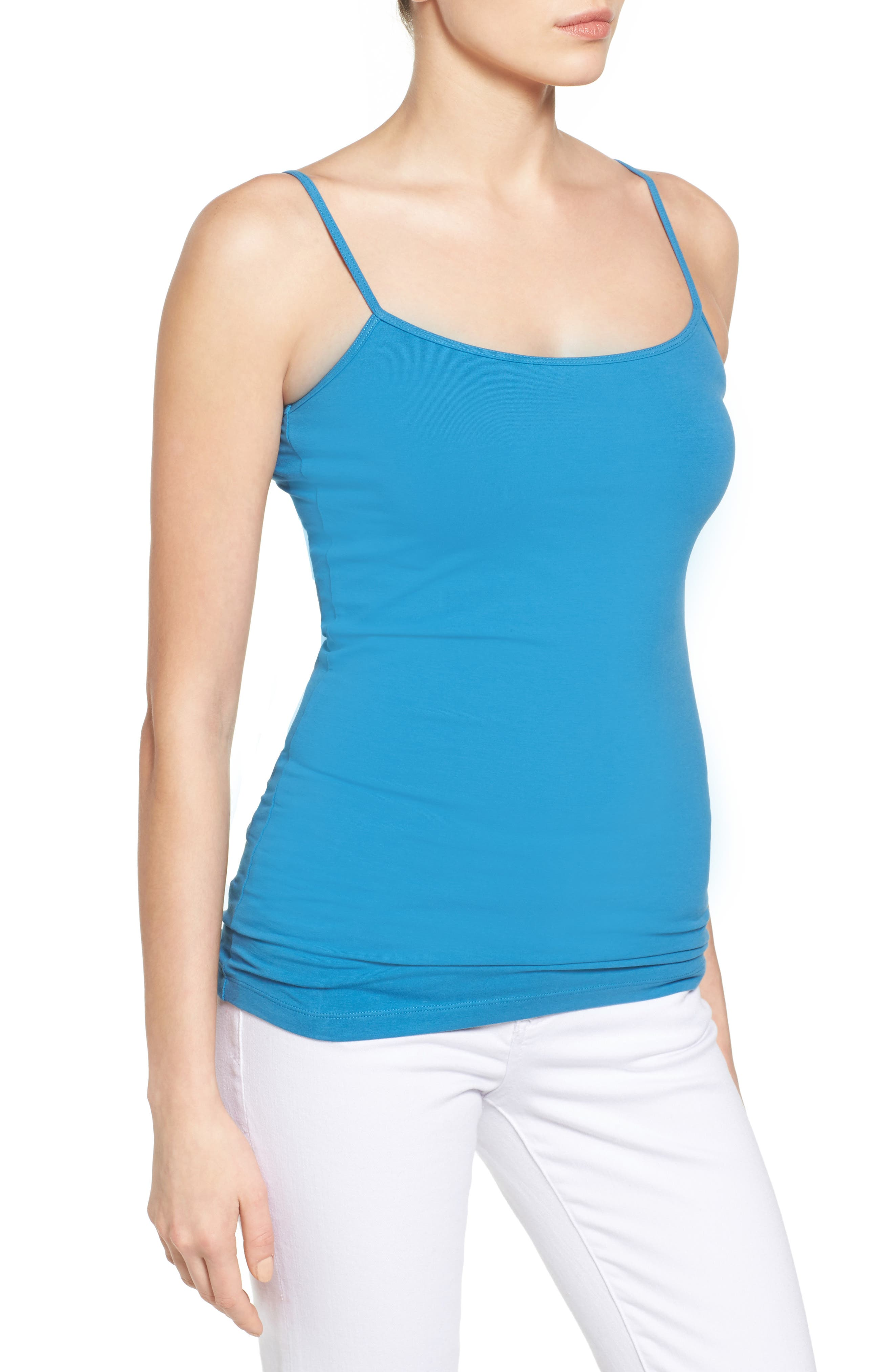 Alternate Image 3  - Halogen® 'Absolute' Camisole (Regular & Petite)