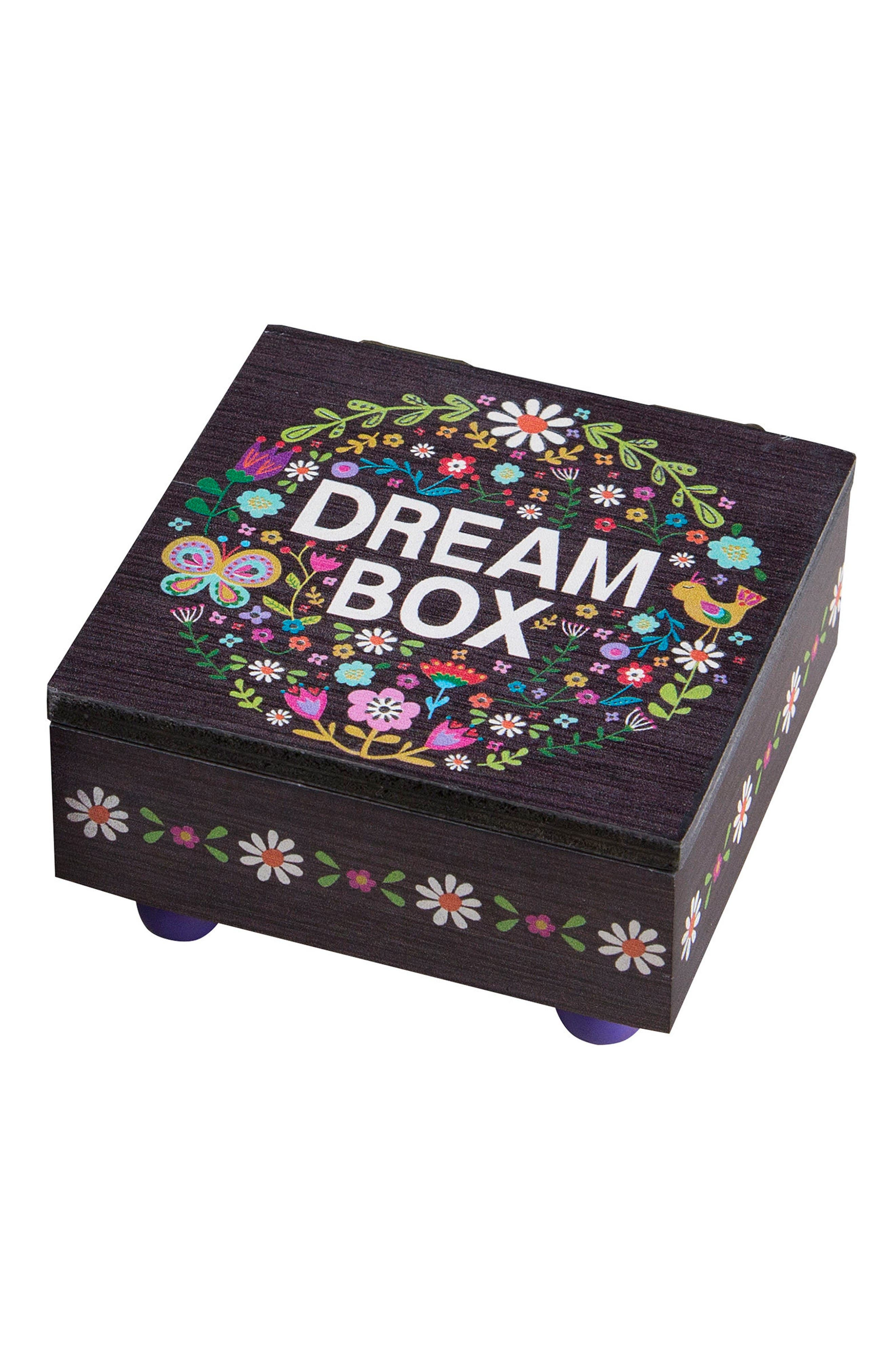 Natural Life Floral Wooden Dream Box