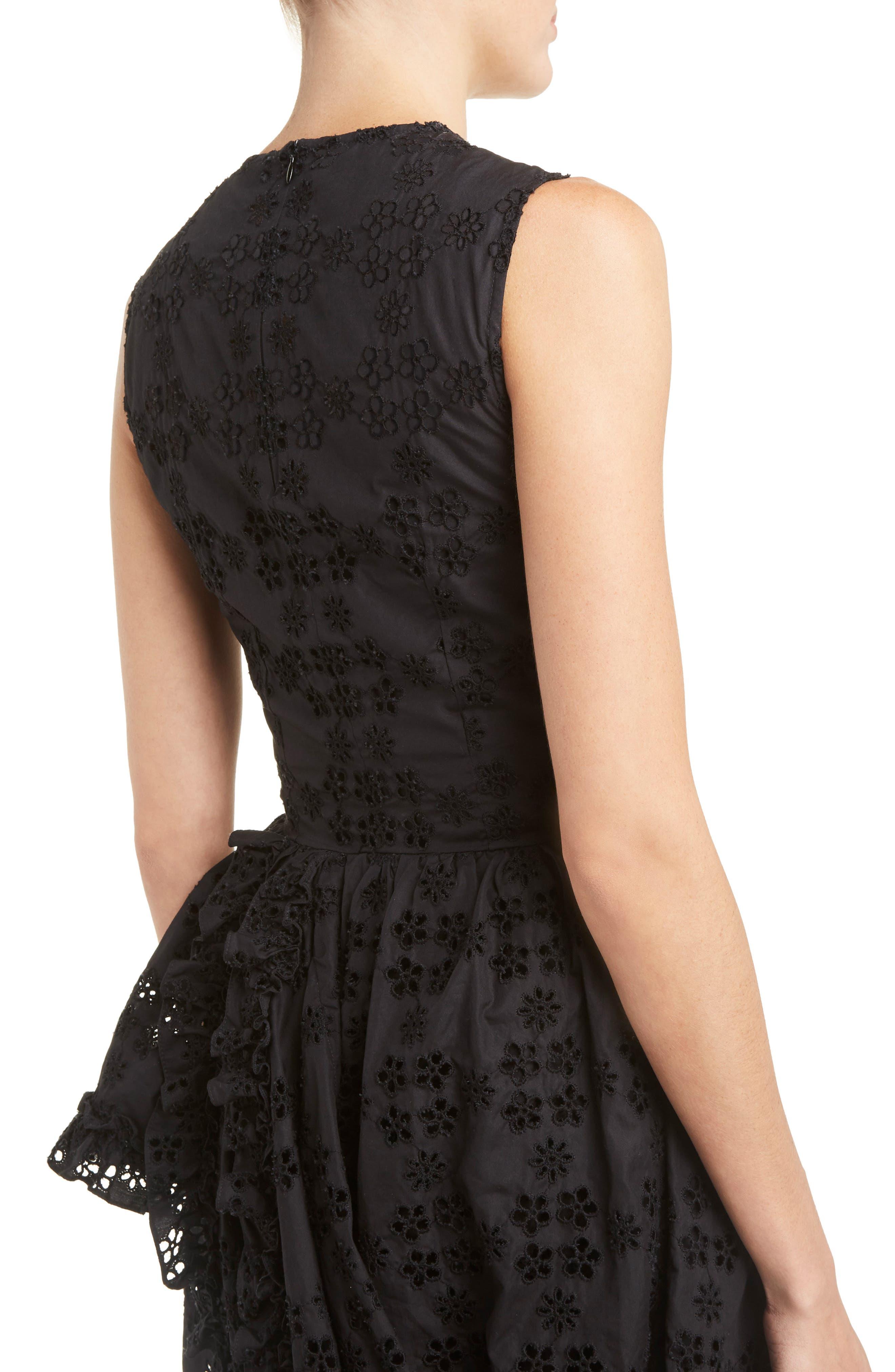 Alternate Image 5  - Simone Rocha Eyelet Frill Dress