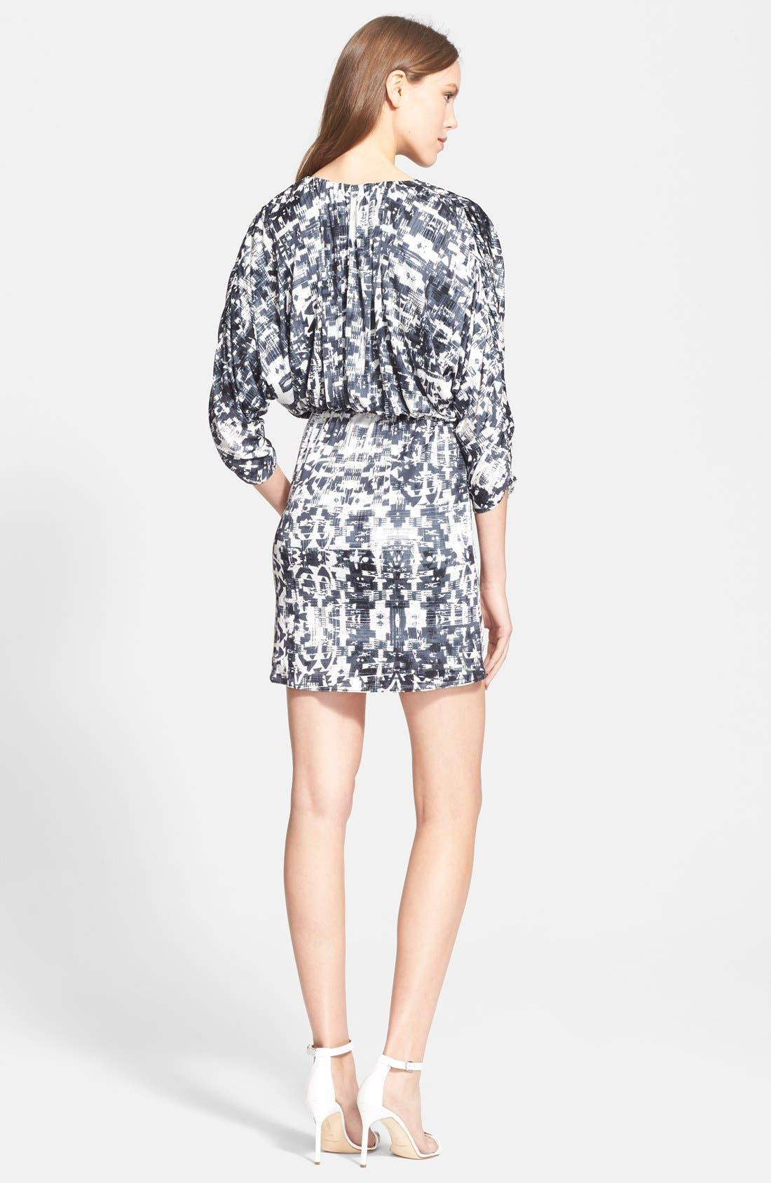 Alternate Image 2  - Parker 'Catalina' Faux Wrap Dress