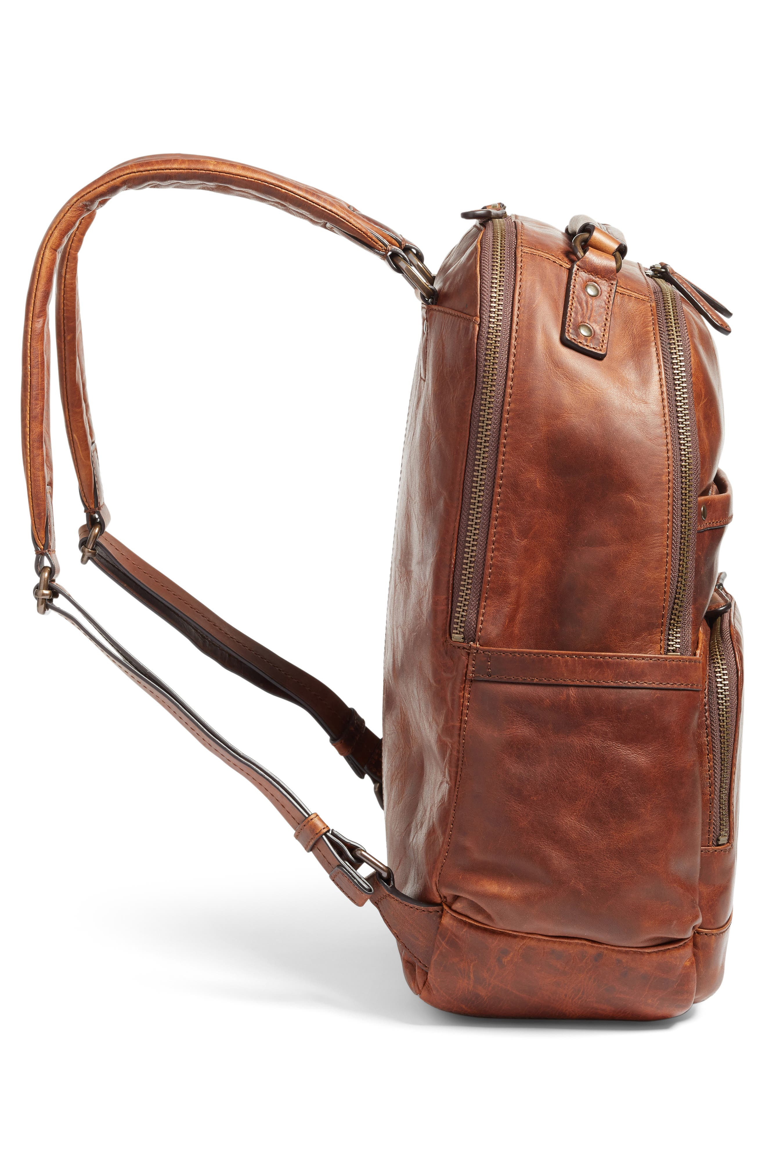 Alternate Image 6  - Frye 'Logan' Leather Backpack