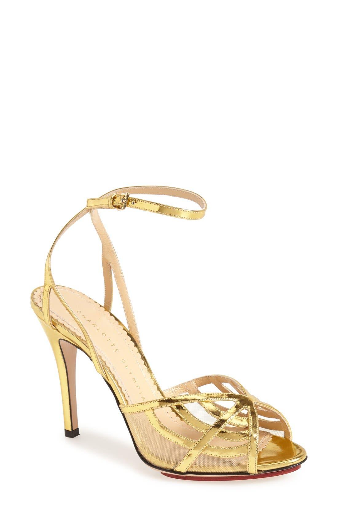 Alternate Image 1 Selected - Charlotte Olympia 'Octavia' Platform Sandal (Women)
