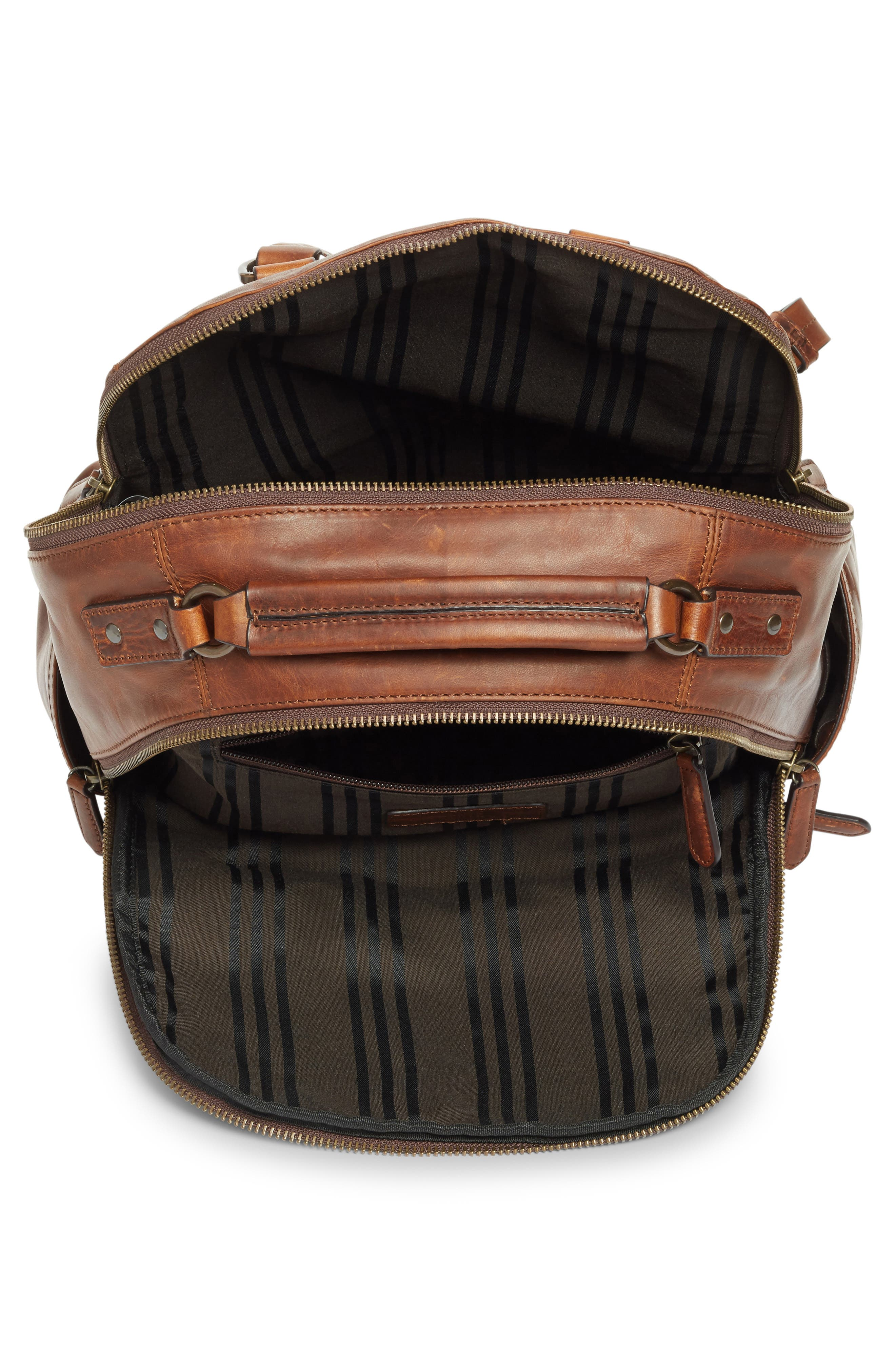 Alternate Image 5  - Frye 'Logan' Leather Backpack