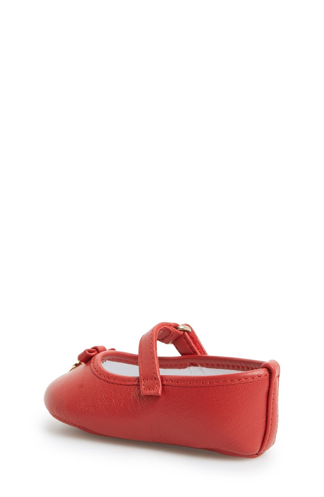 Alternate Image 2  - Dolce&Gabbana Mary Jane Crib Shoe (Baby & Walker)
