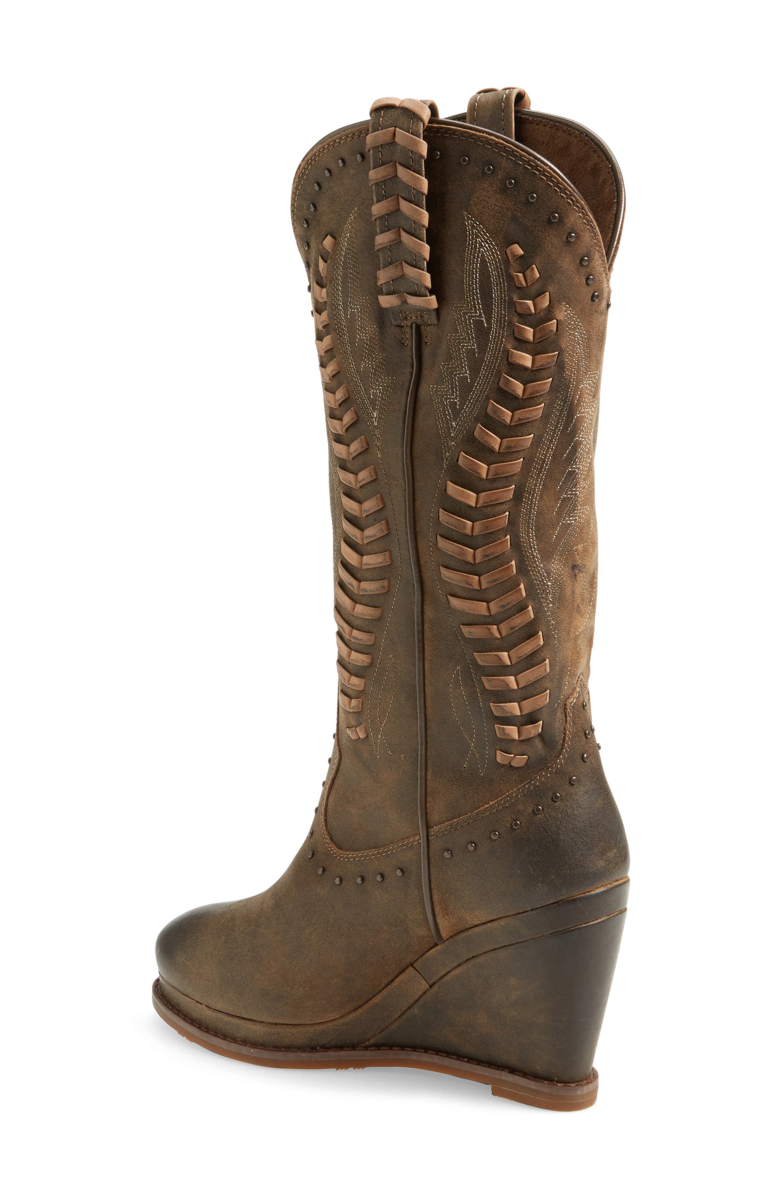 Alternate Image 2  - Ariat Nashville Western Wedge Boot (Women)
