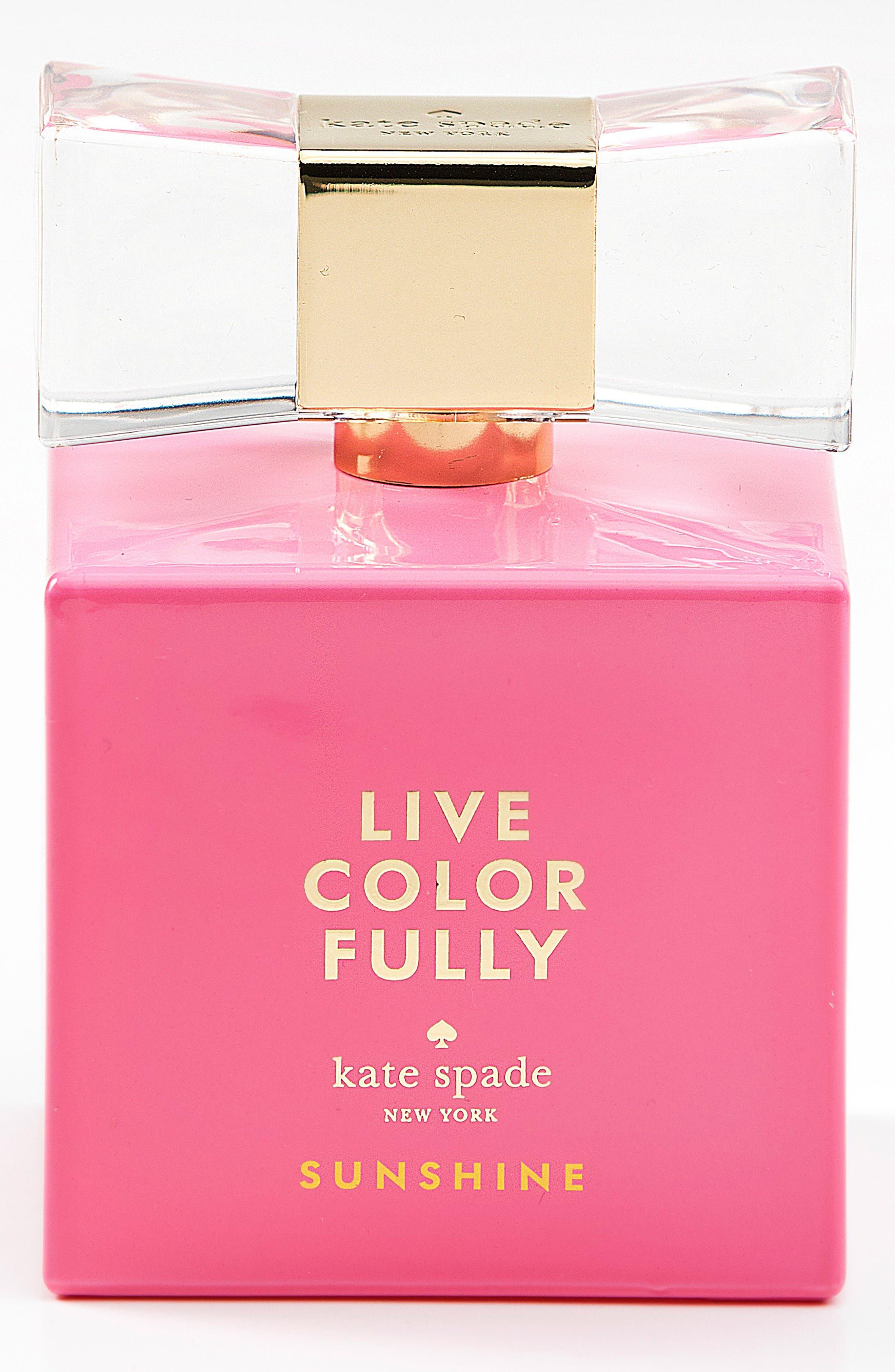 Alternate Image 1 Selected - kate spade new york 'live colorfully sunshine' eau de parfum (Limited Edition)