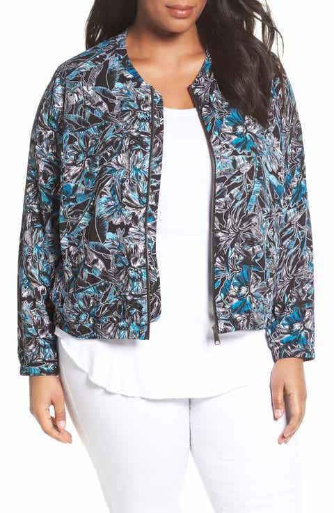 Sejour Bomber Jacket (Plus Size)