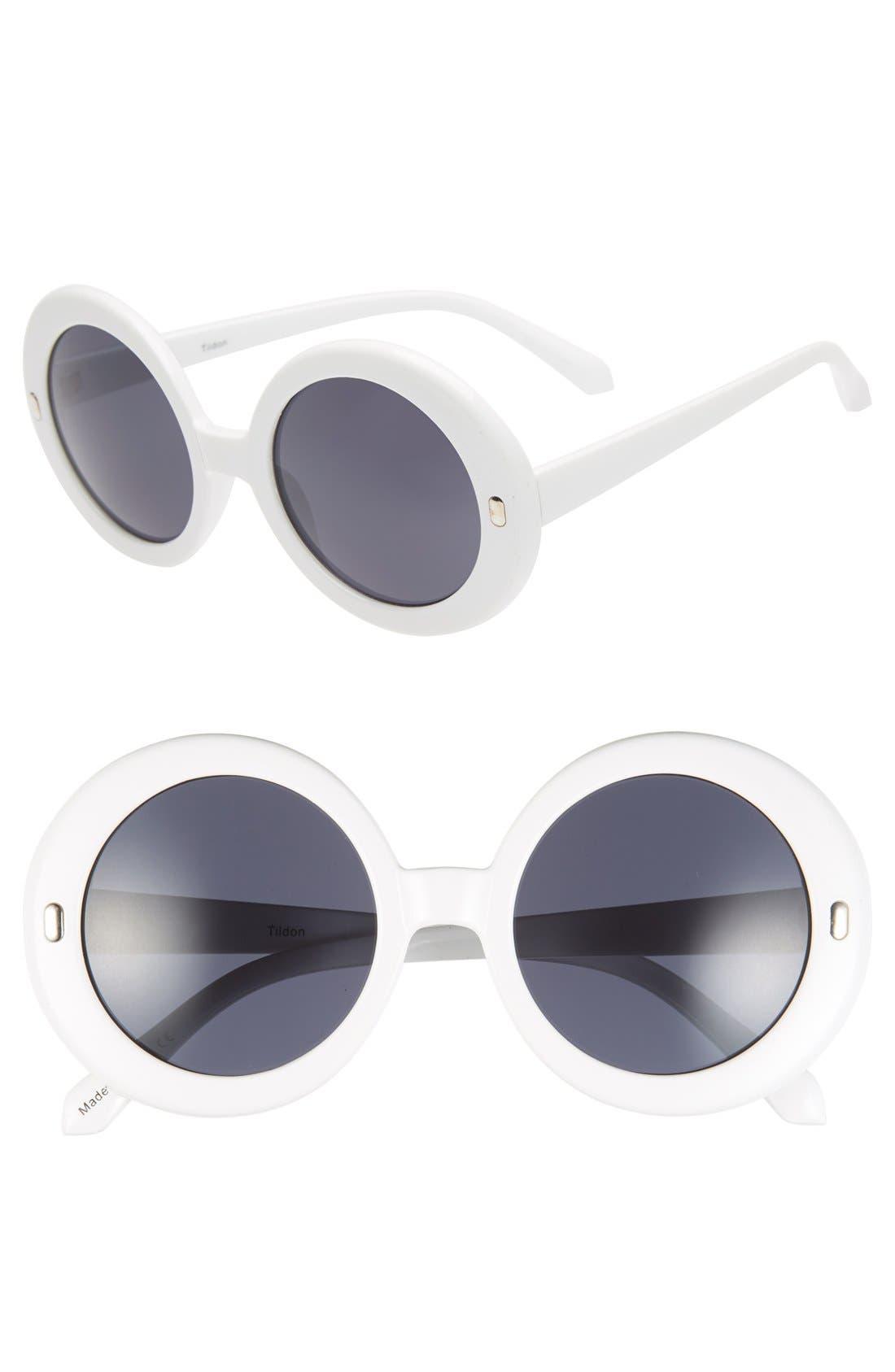 Alternate Image 1 Selected - Tildon 60mm Round Sunglasses