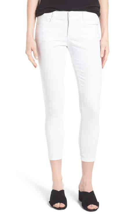 Wit   Wisdom Ab-solution Skinny Crop Jeans (Regular   Petite) (Nordstrom Exclusive)