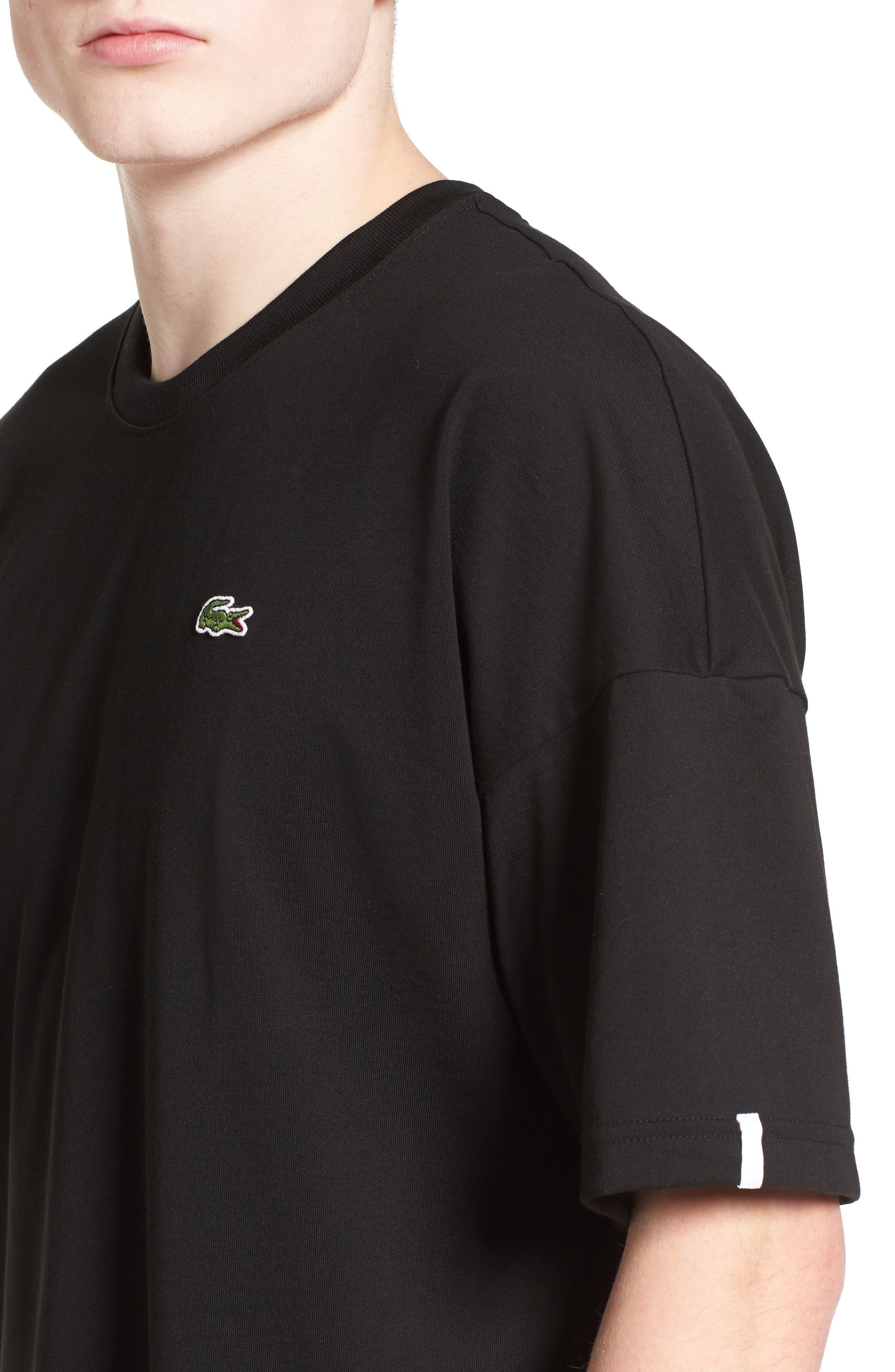 Alternate Image 4  - Lacoste L!VE Mock Layer T-Shirt