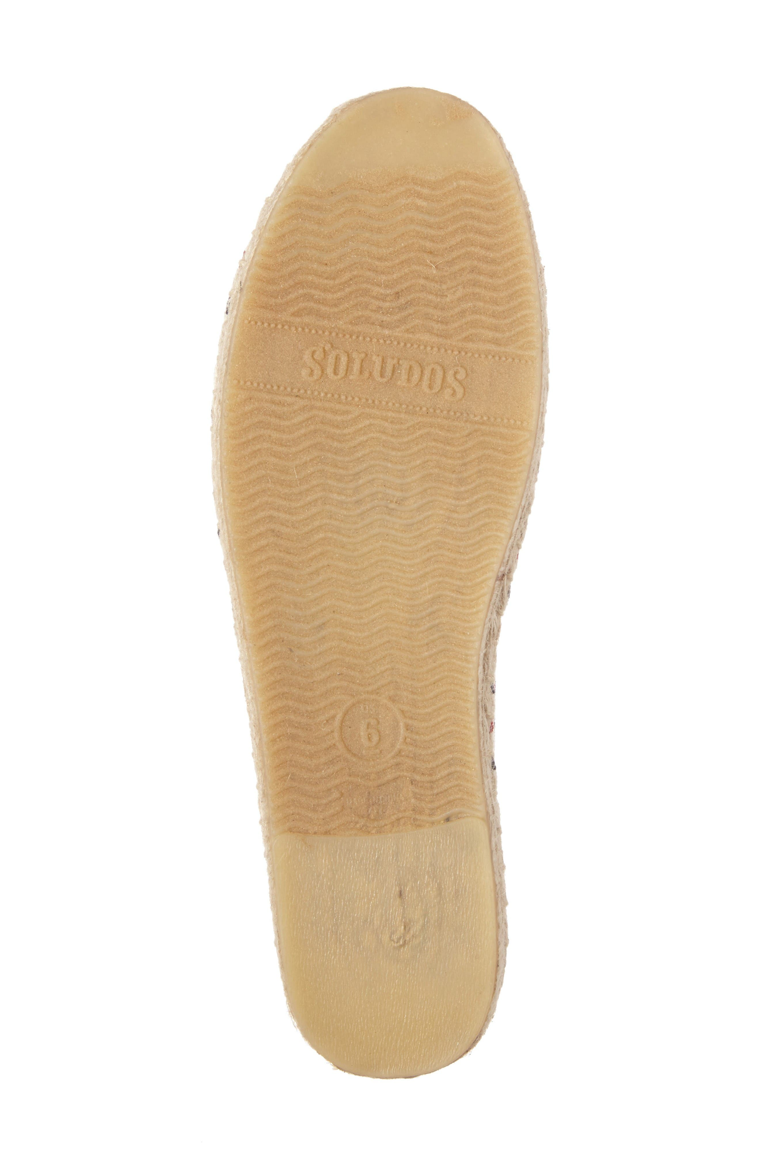 Alternate Image 4  - Soludos Stripe Espadrille Loafer (Women)