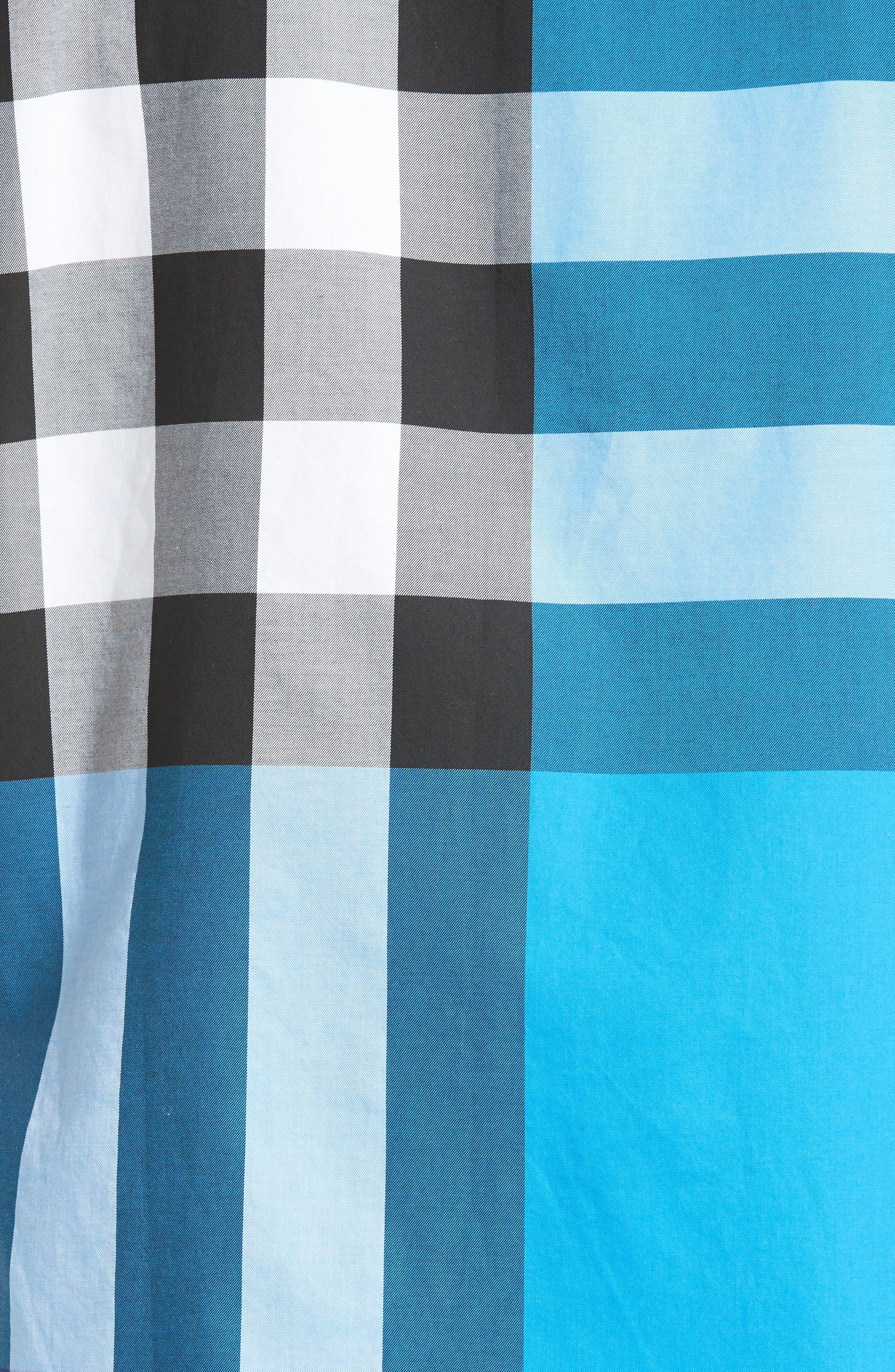 Alternate Image 5  - Burberry Fred Check Sport Shirt