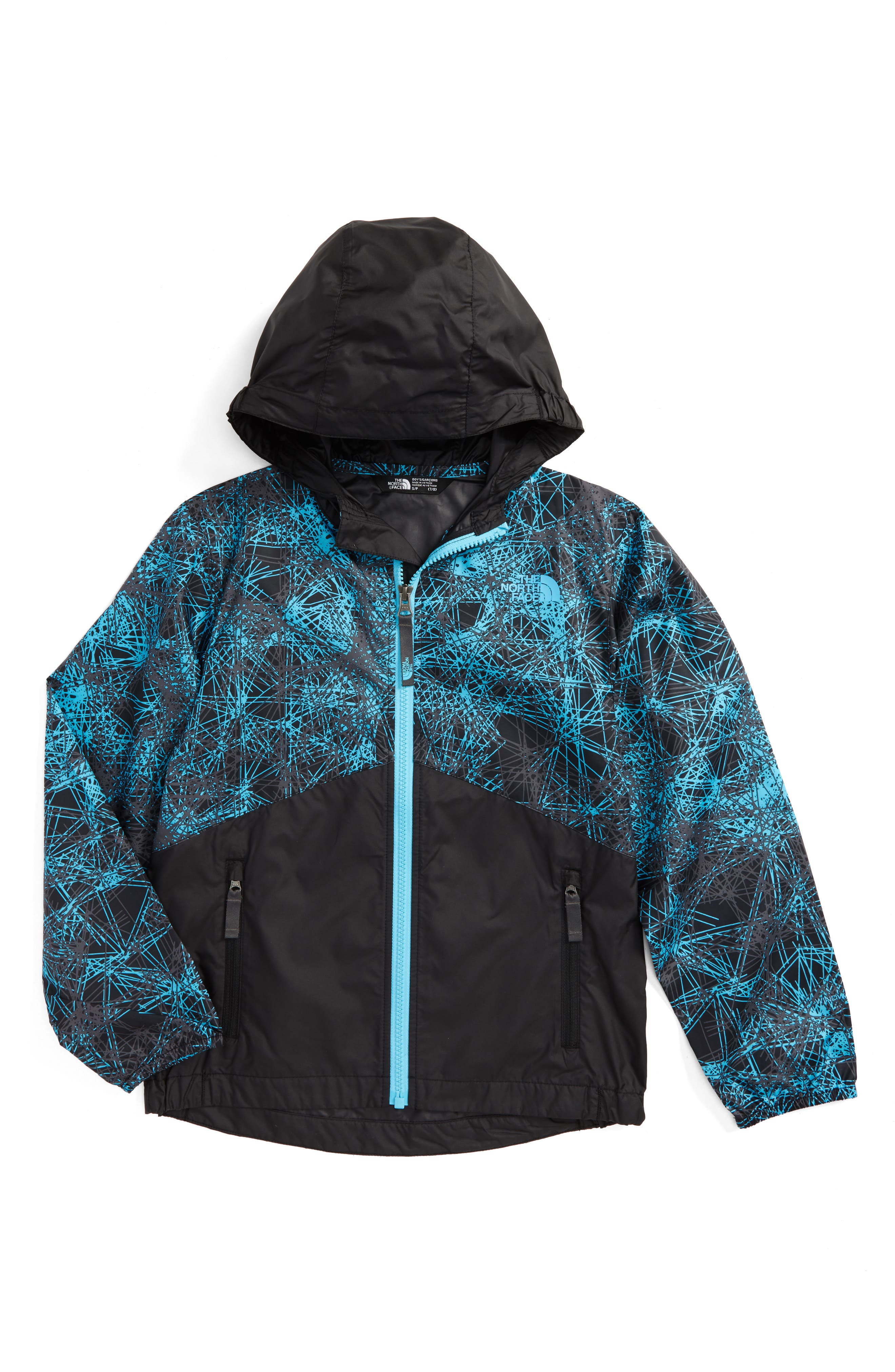 THE NORTH FACE 'Flurry' Colorblock Hooded Water Resistant