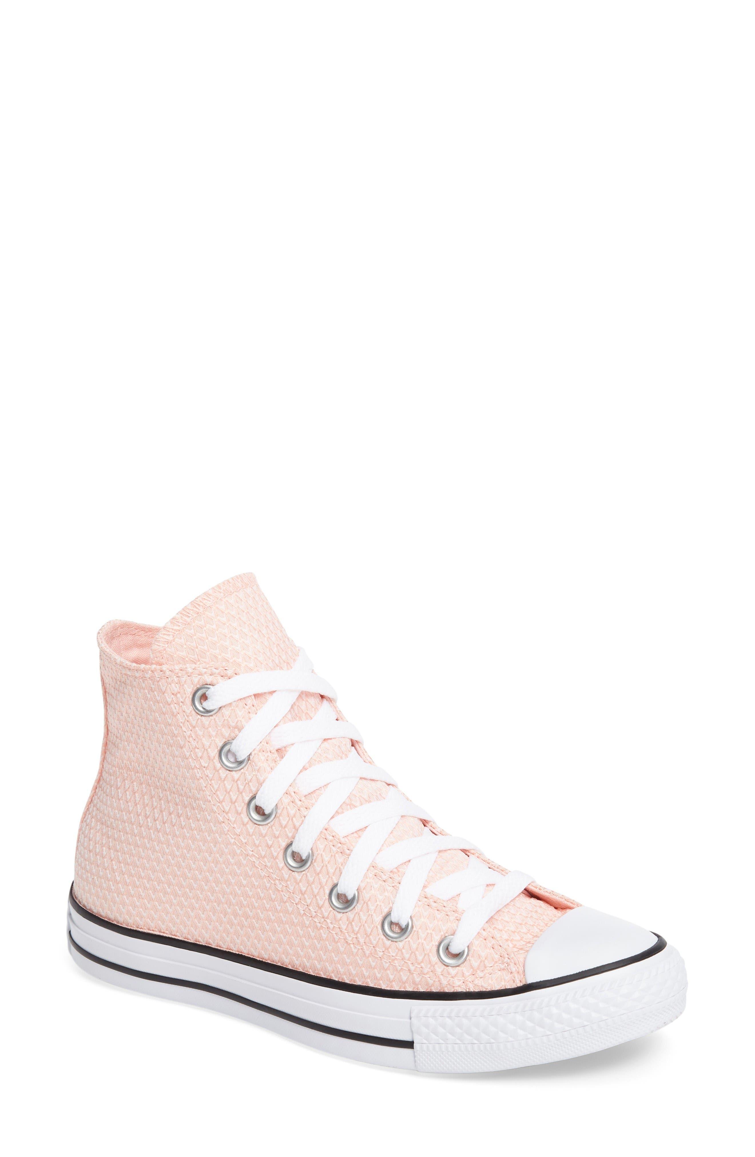 Converse Chuck Taylor® All Star® Woven High Top Sneaker (Women)