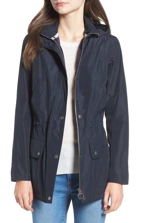 Barbour Kinnordy Waterproof Hooded Jacket | Nordstrom