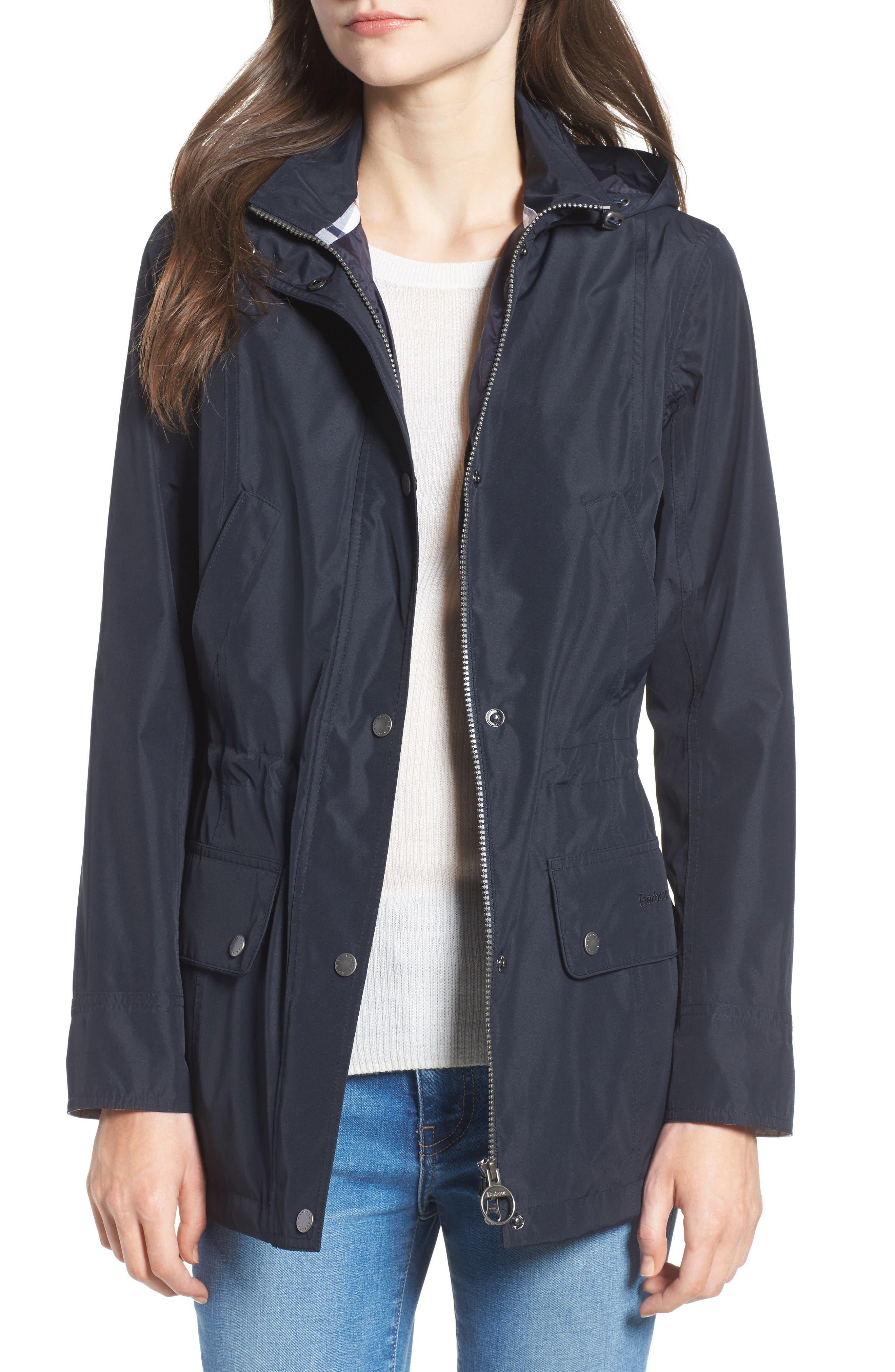 Barbour Kinnordy Waterproof Hooded Jacket