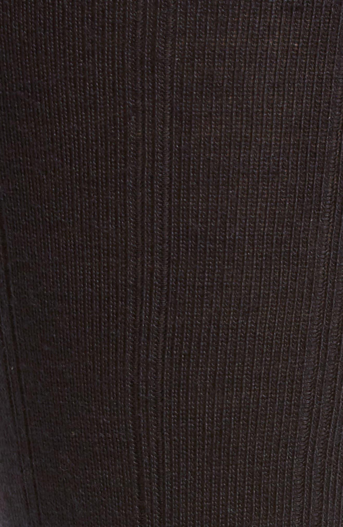Alternate Image 2  - Nordstrom Mens Shop Rib Wool Blend Socks (Men)