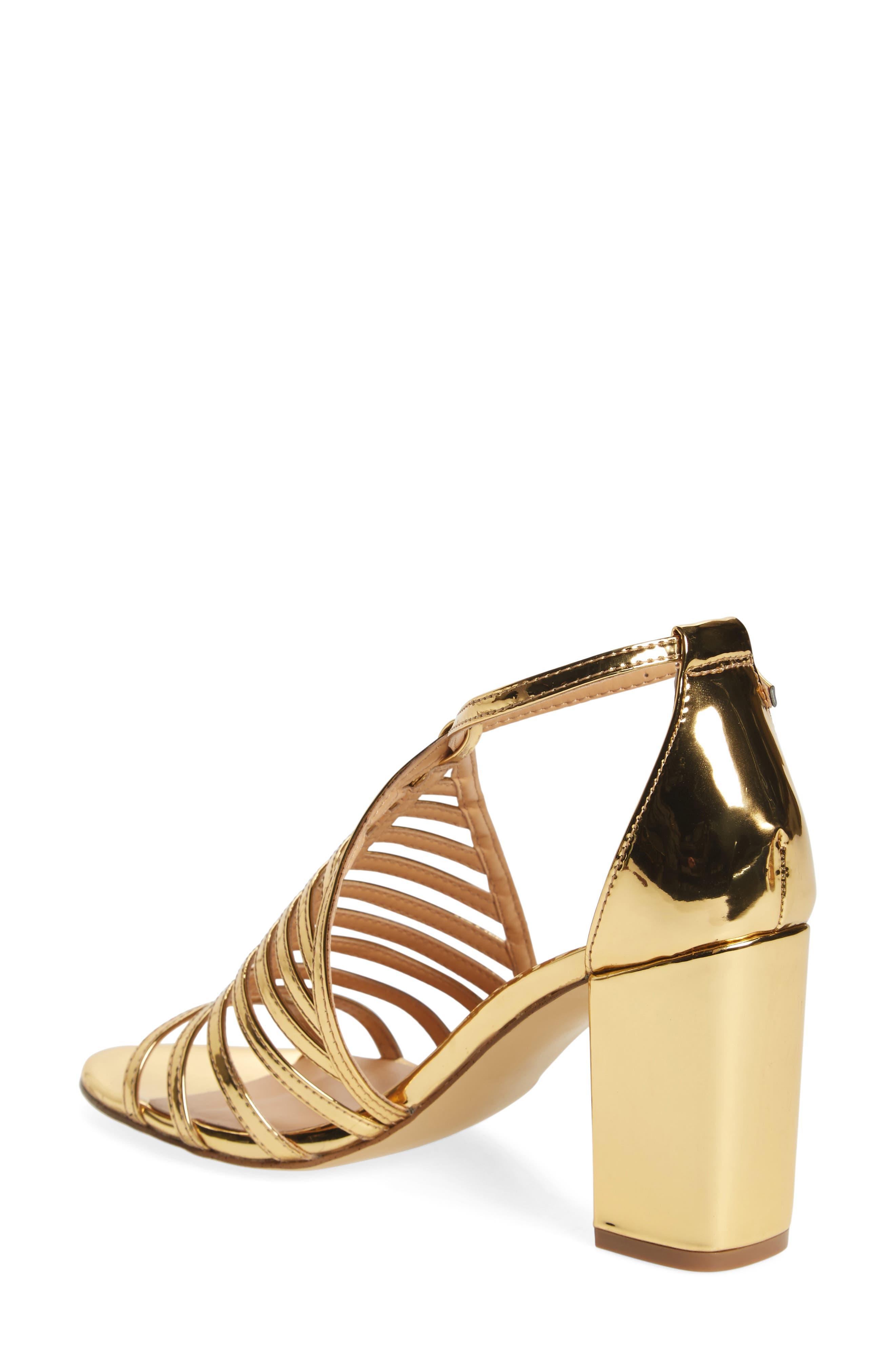 Alternate Image 2  - Daya by Zendaya Soda Block Heel Sandal (Women)