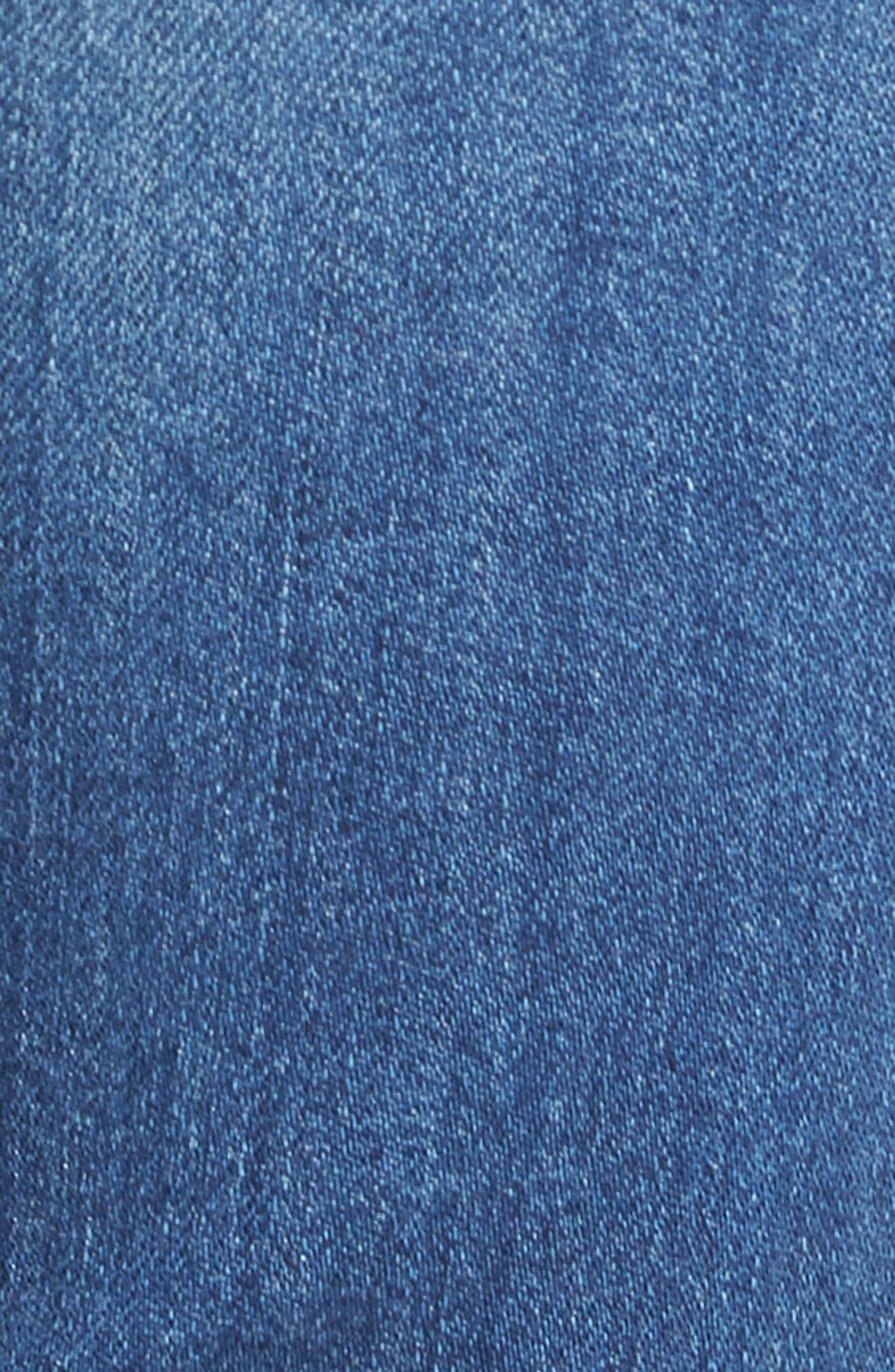 Alternate Image 5  - KUT from the Kloth Catherine Distressed Boyfriend Jeans (Fiery) (Regular & Petite)