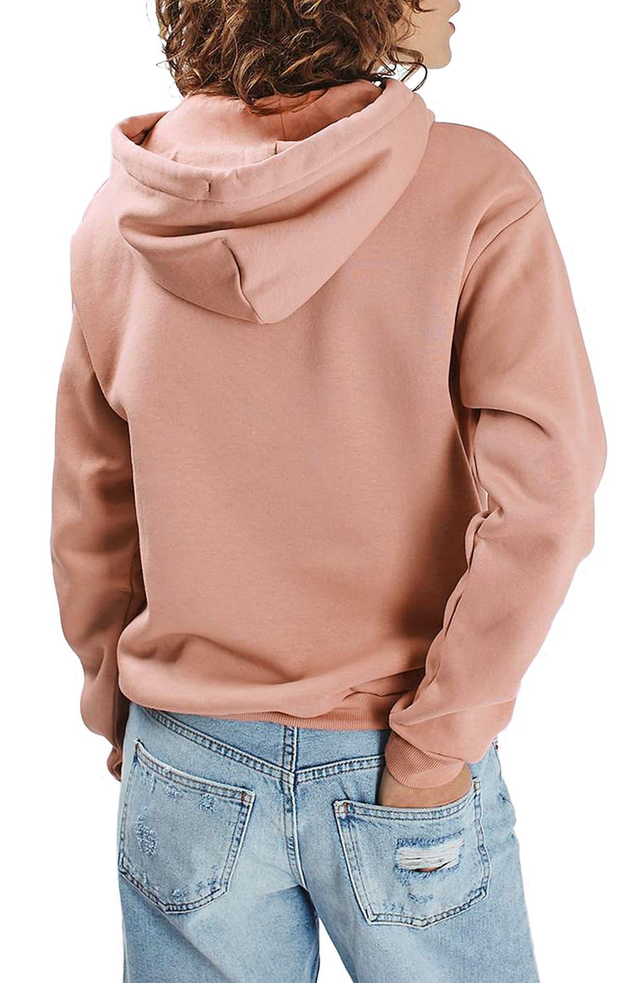 Alternate Image 3  - Topshop Oversize Hoodie (Regular & Petite)